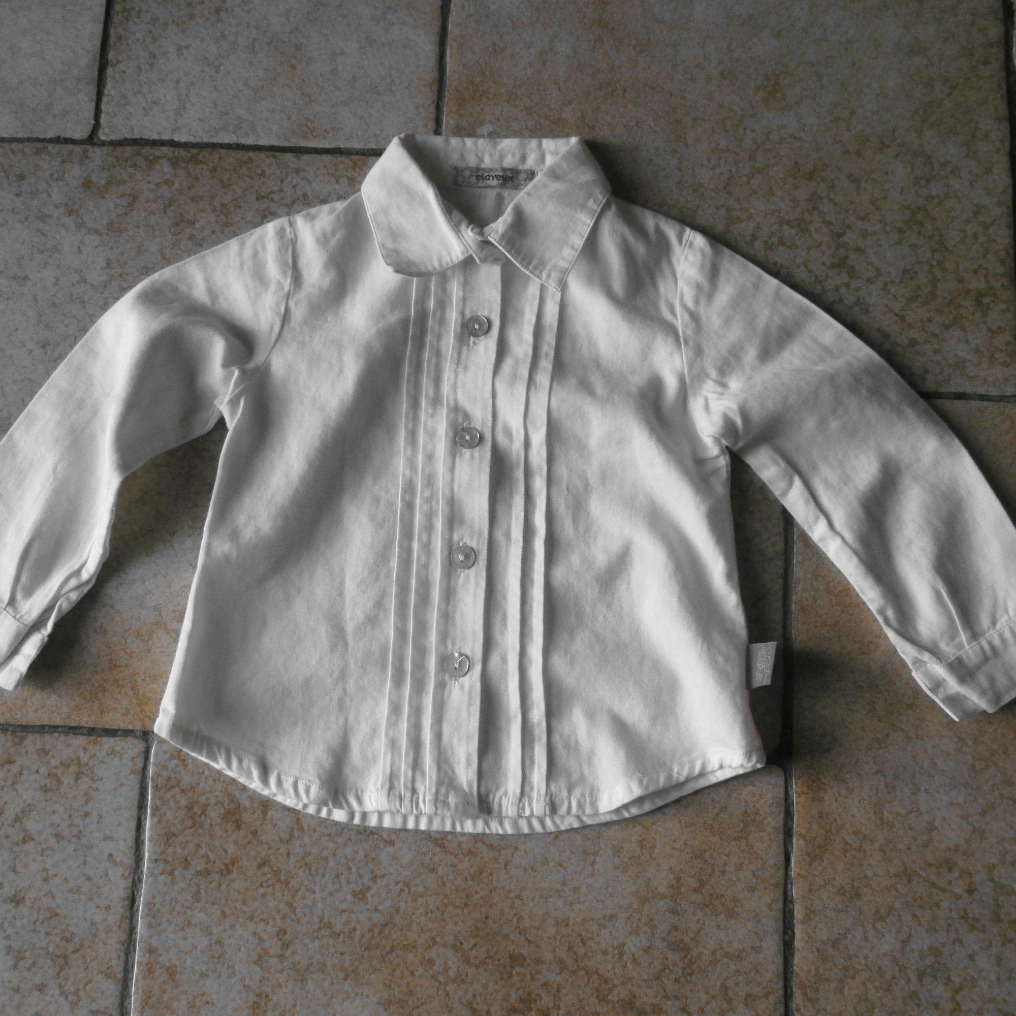Chemisier, chemisette MARQUE INCONNUE Blanc, blanc cassé, écru