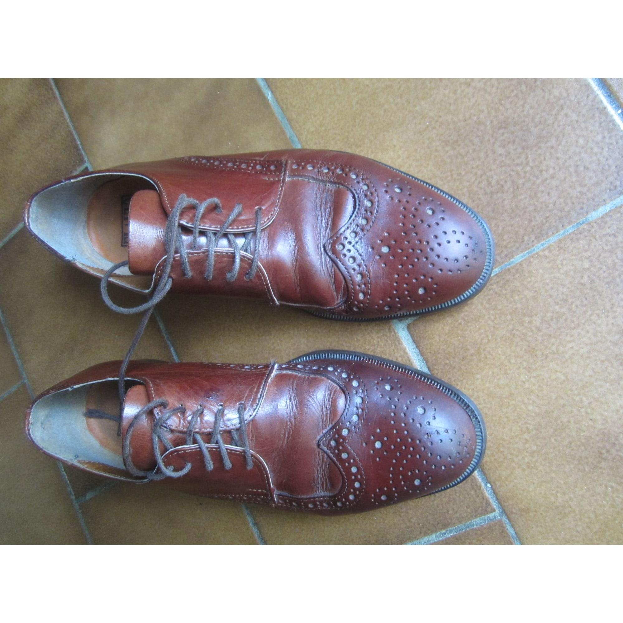 Chaussures à lacets FLAVIO Marron