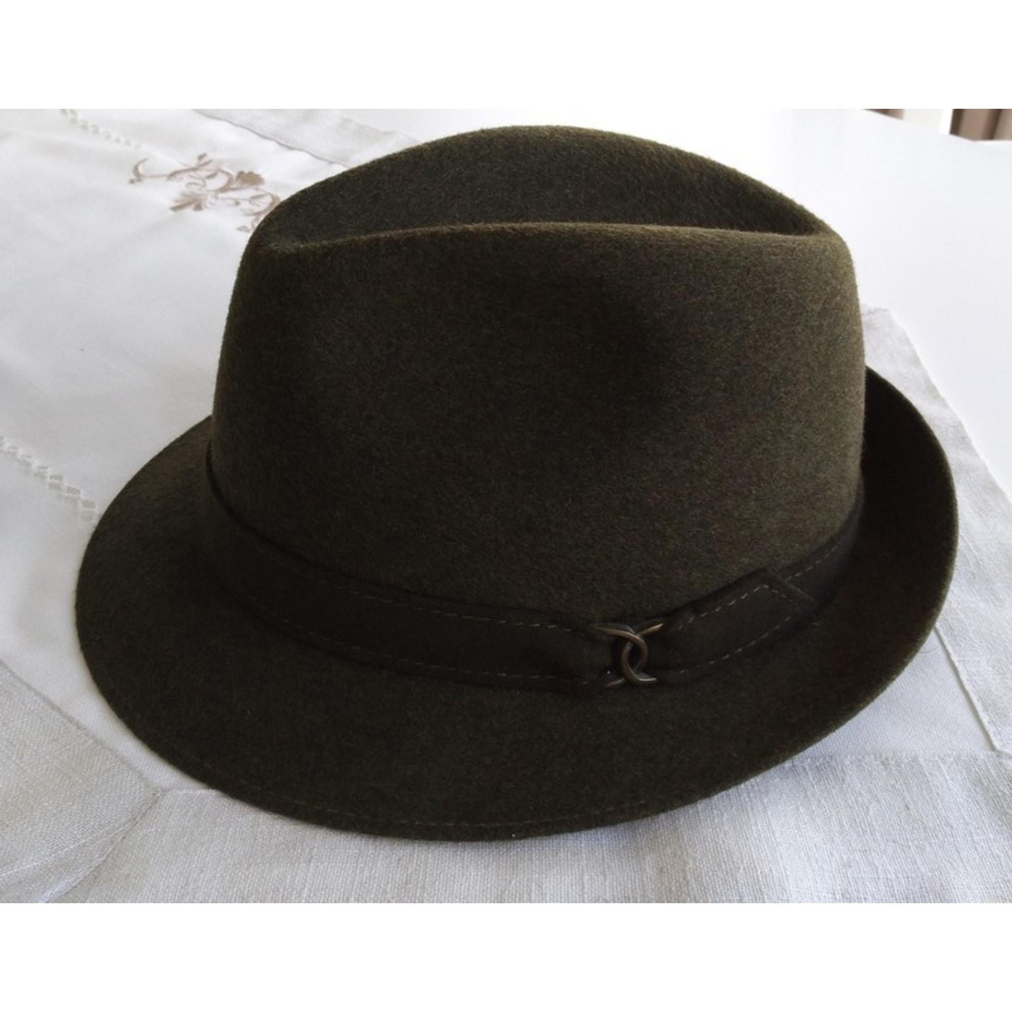 Chapeau MARQUE INCONNUE Kaki