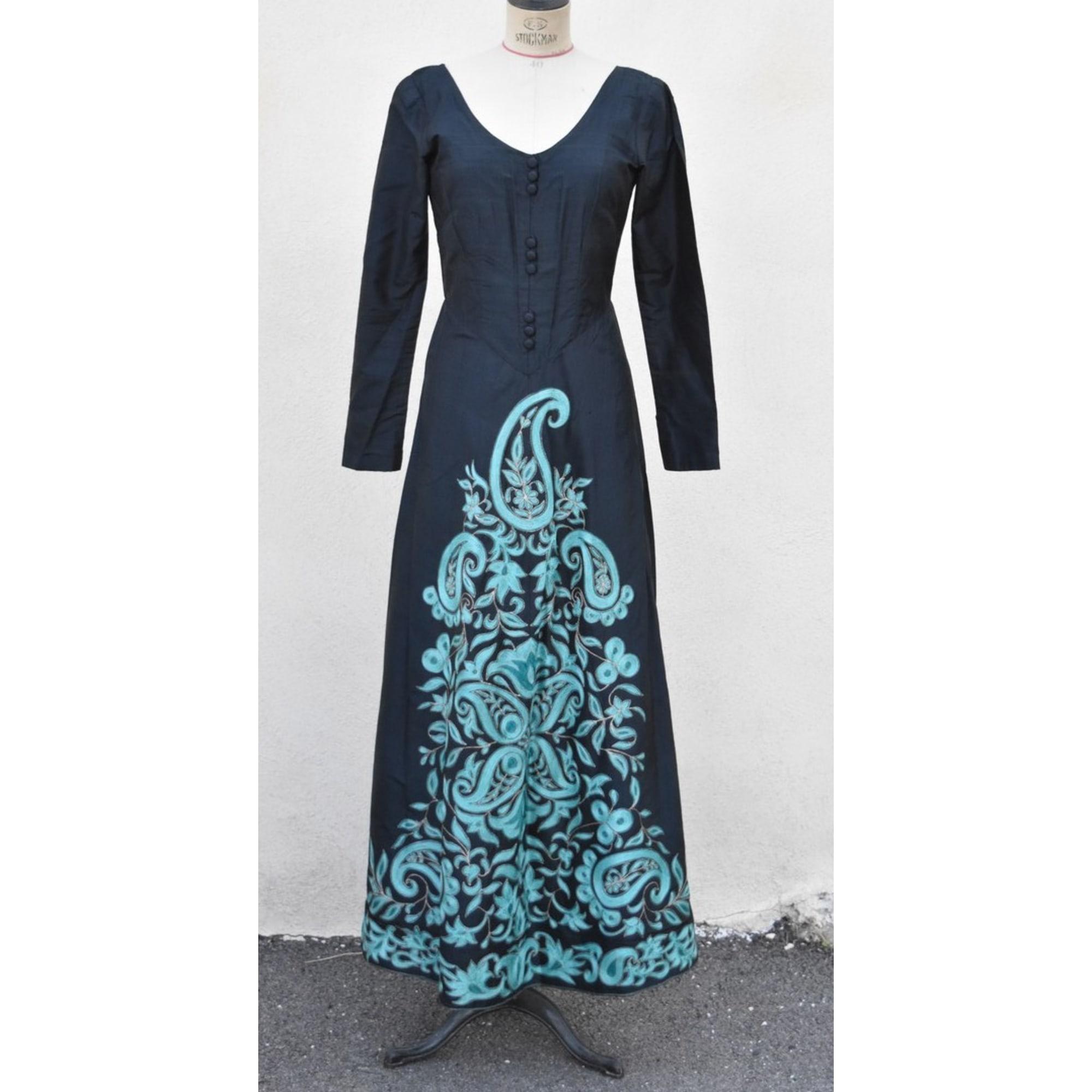 Robe longue VINTAGE Noir