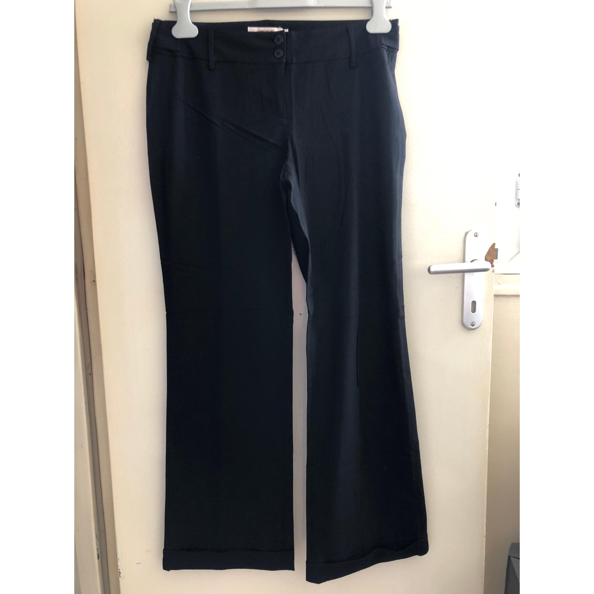 Pantalon large COMPTOIR DES COTONNIERS Noir