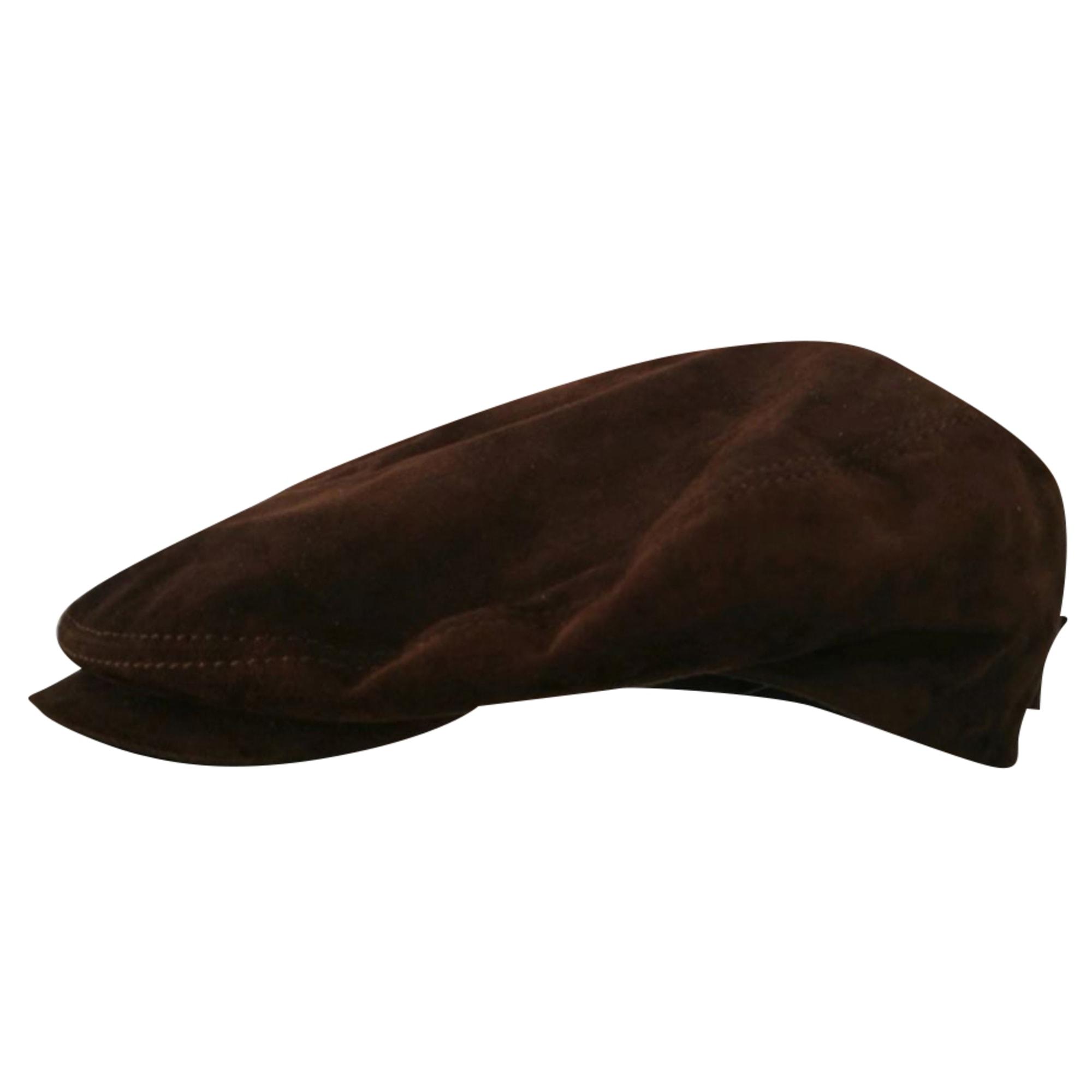 Bonnet BORSALINO Marron