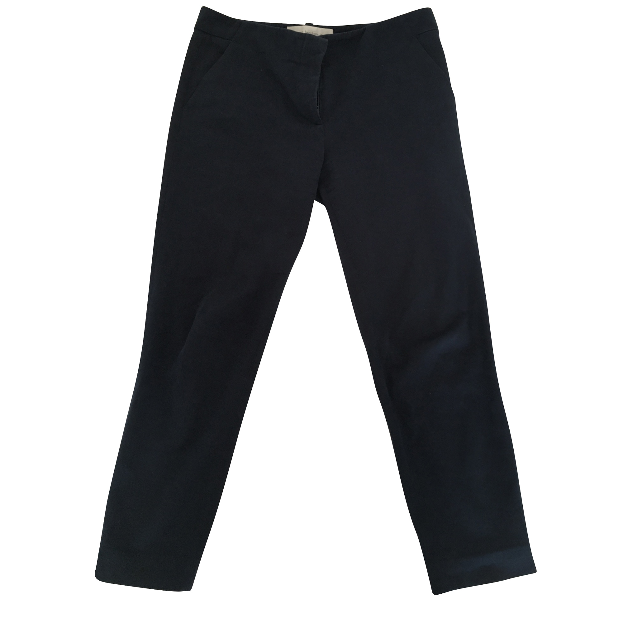 Pantalon droit VICTORIA BECKHAM Bleu, bleu marine, bleu turquoise