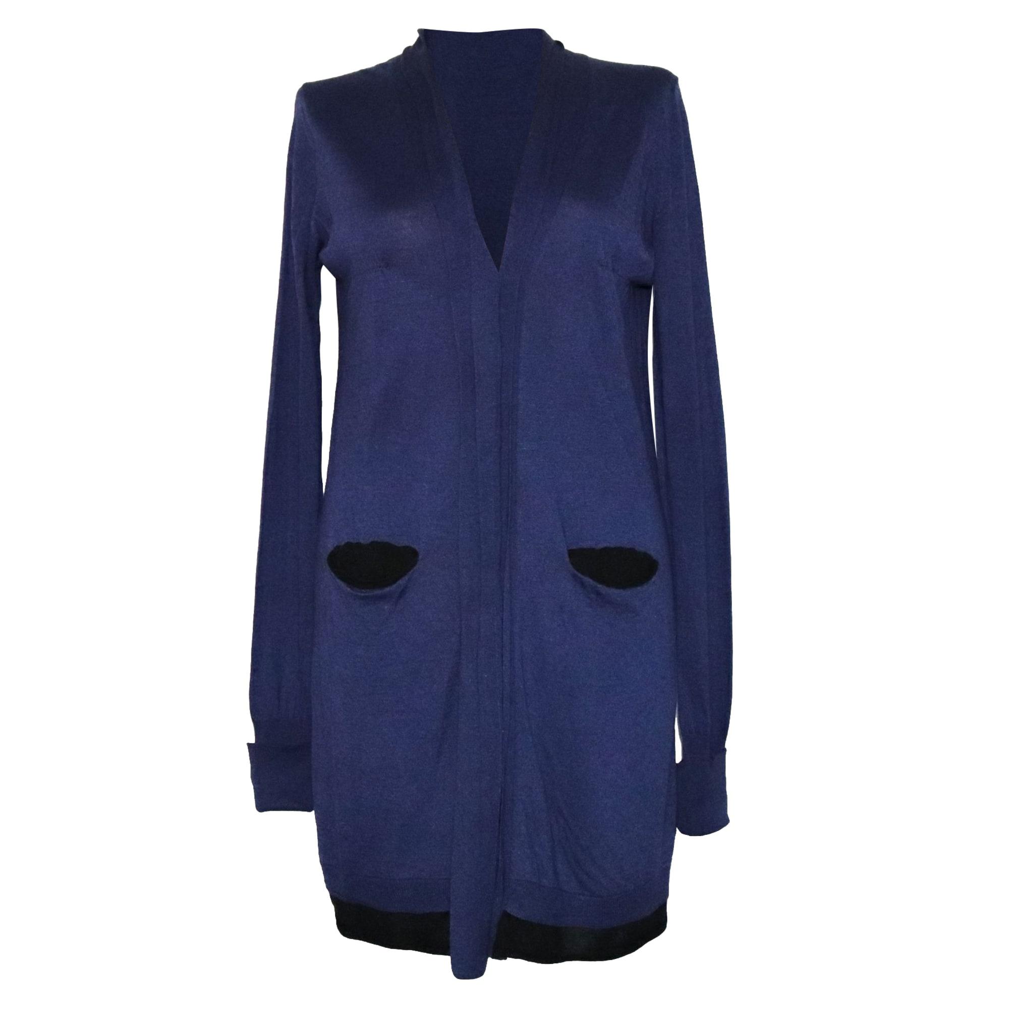 Gilet, cardigan TWIN-SET SIMONA BARBIERI Bleu, bleu marine, bleu turquoise