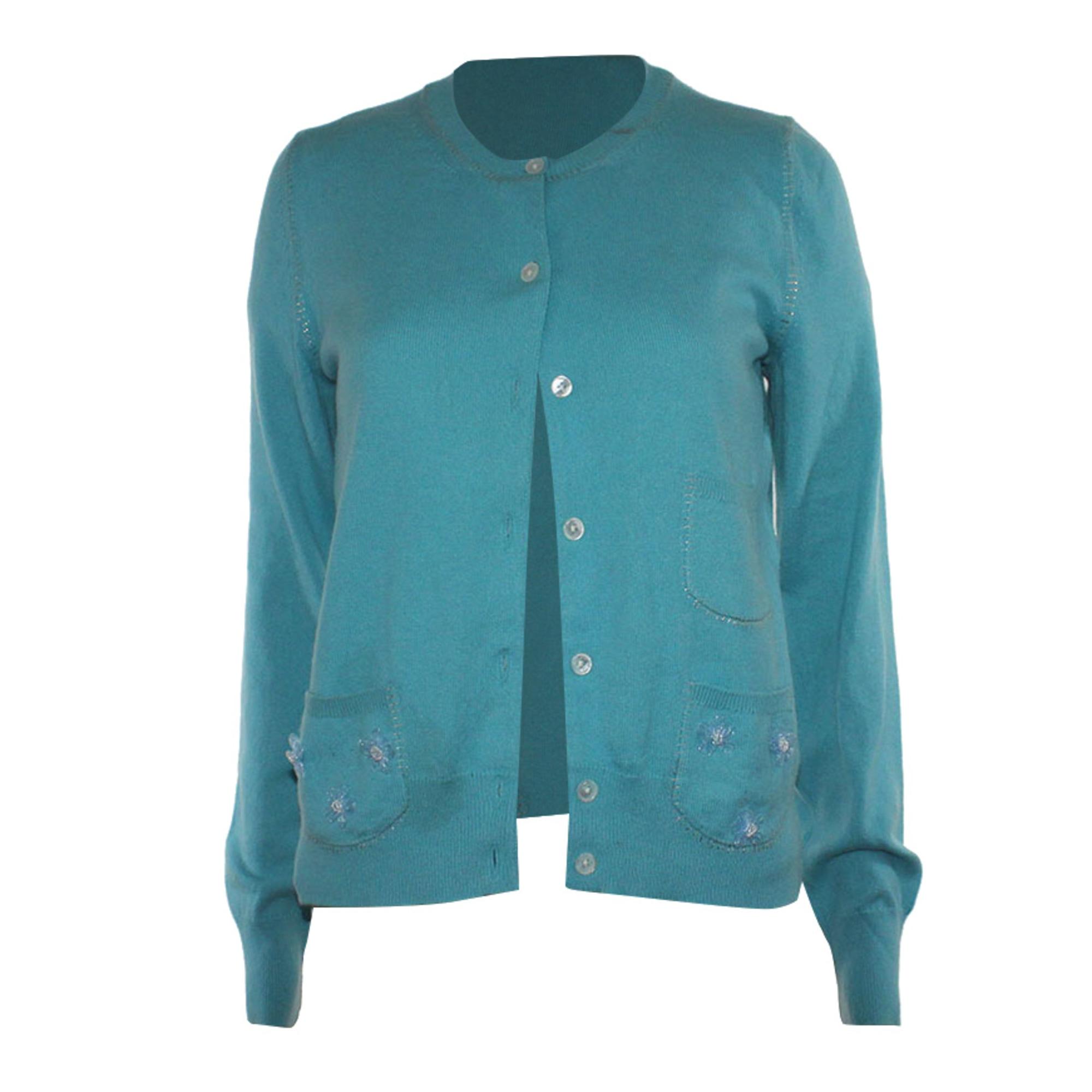 Gilet, cardigan MARC JACOBS Bleu, bleu marine, bleu turquoise