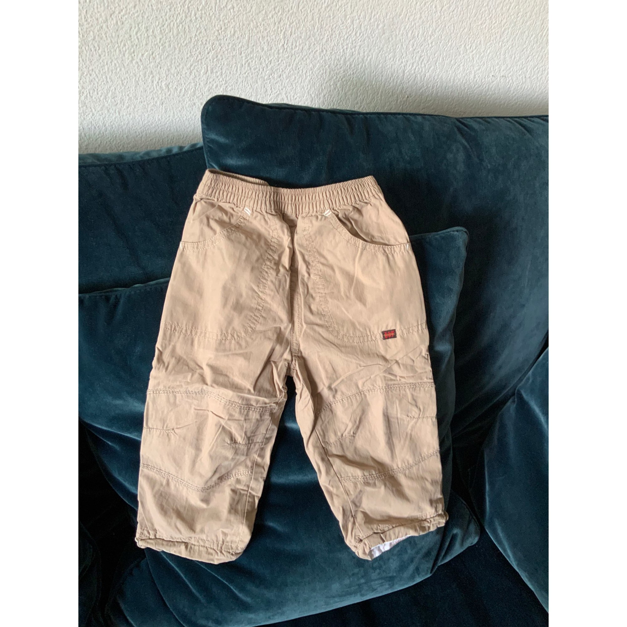Pantalon OBAIBI Beige, camel