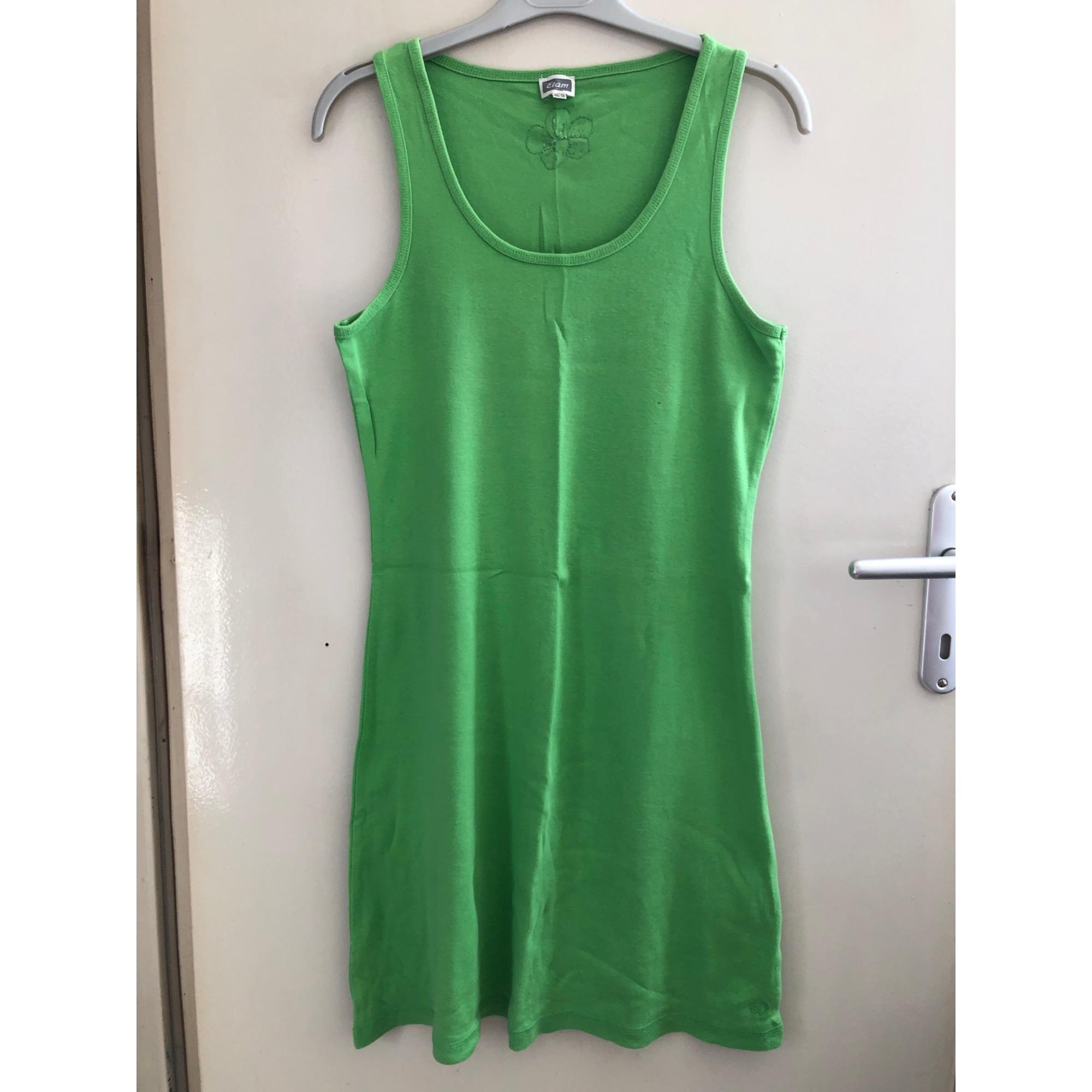 Robe courte ETAM Vert