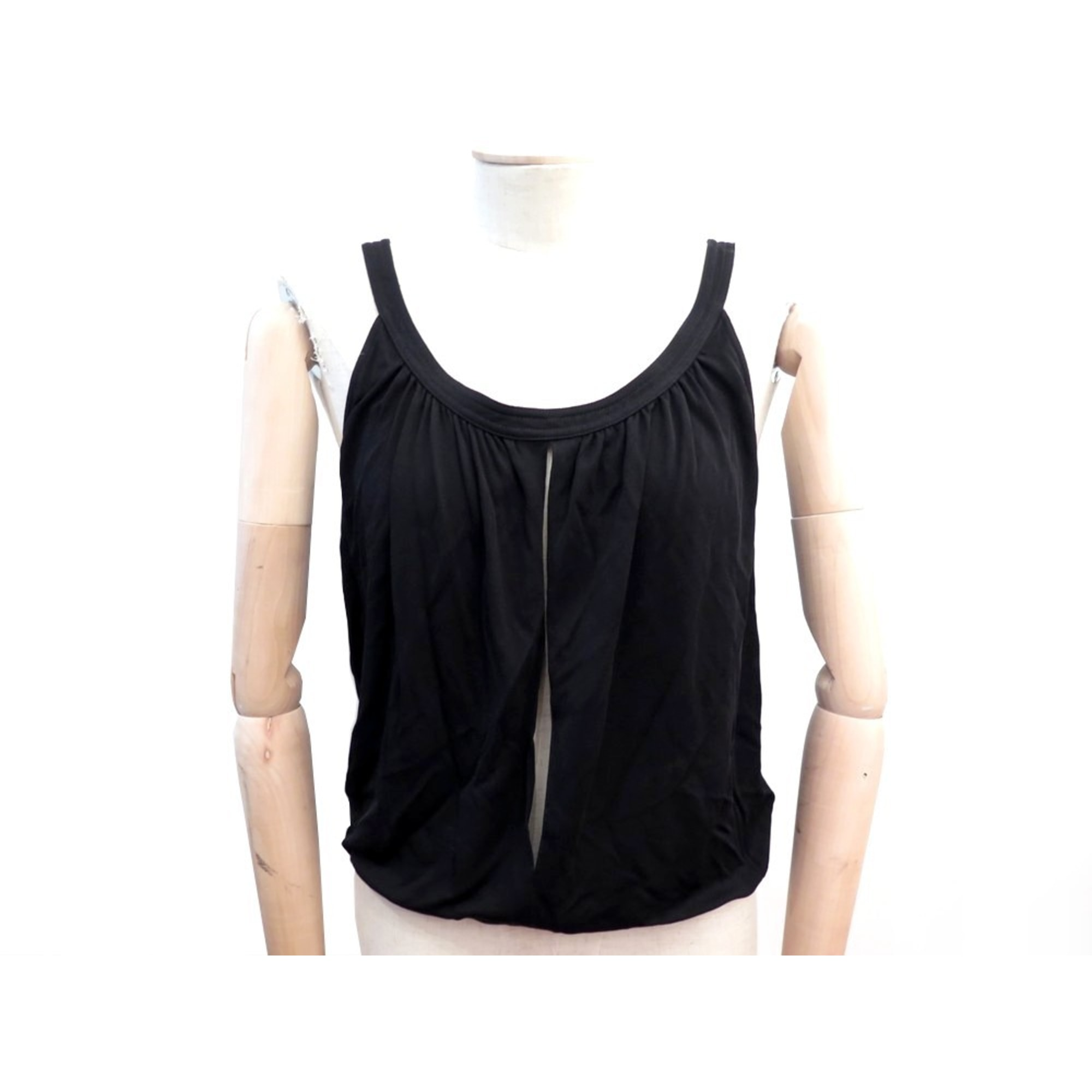 Top, tee-shirt HERMÈS Noir