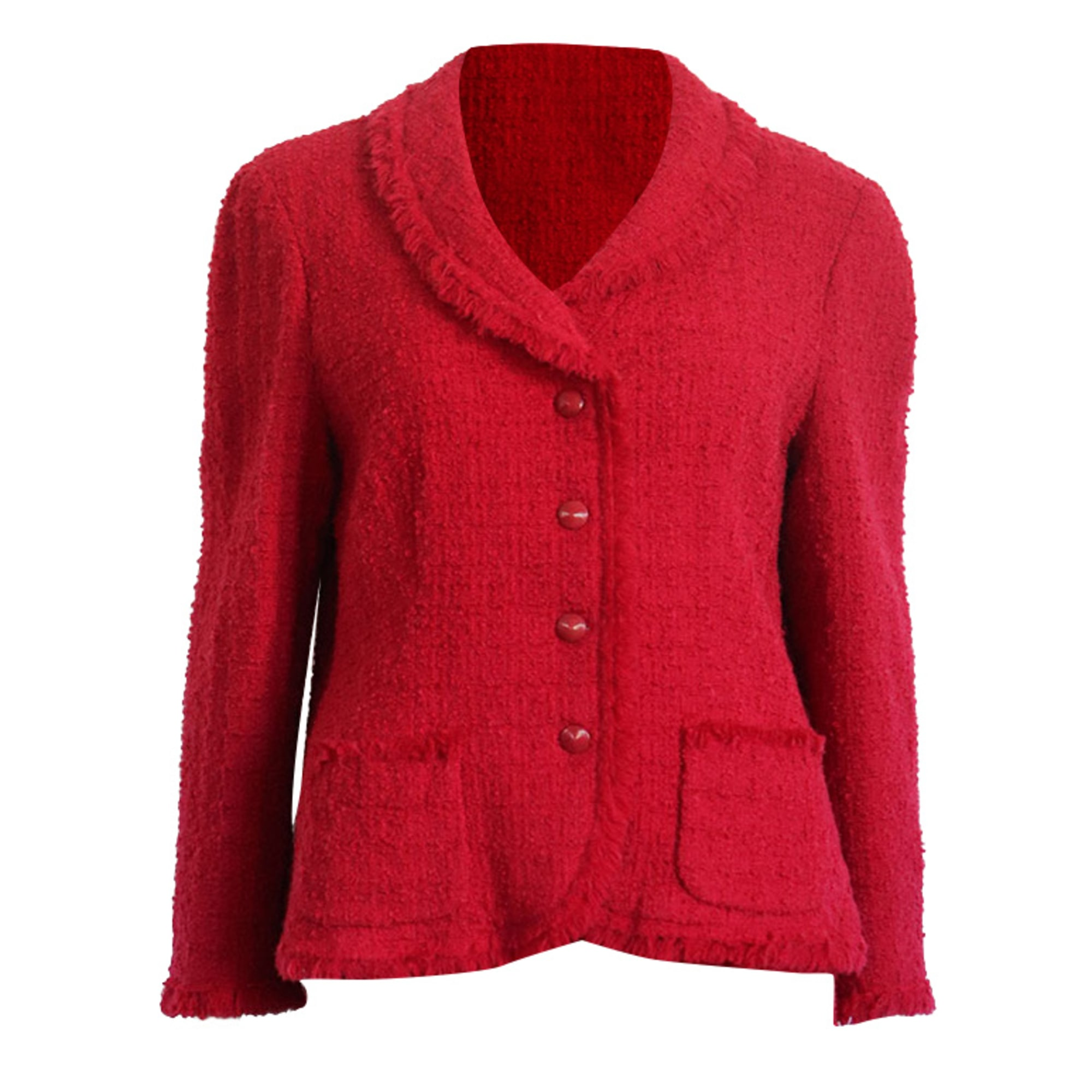 Tailleur jupe MOSCHINO Rouge, bordeaux