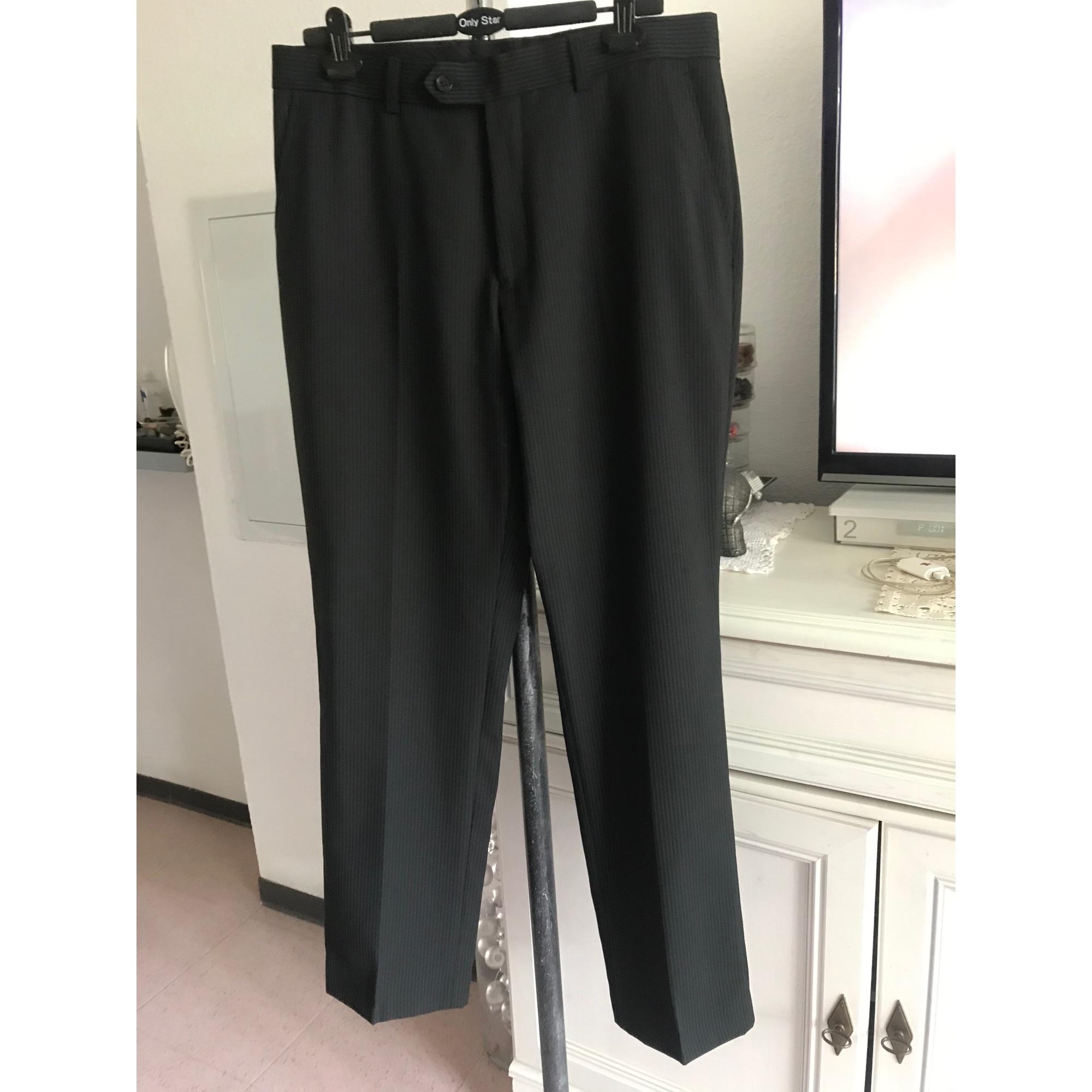 Pantalon droit BRICE Noir