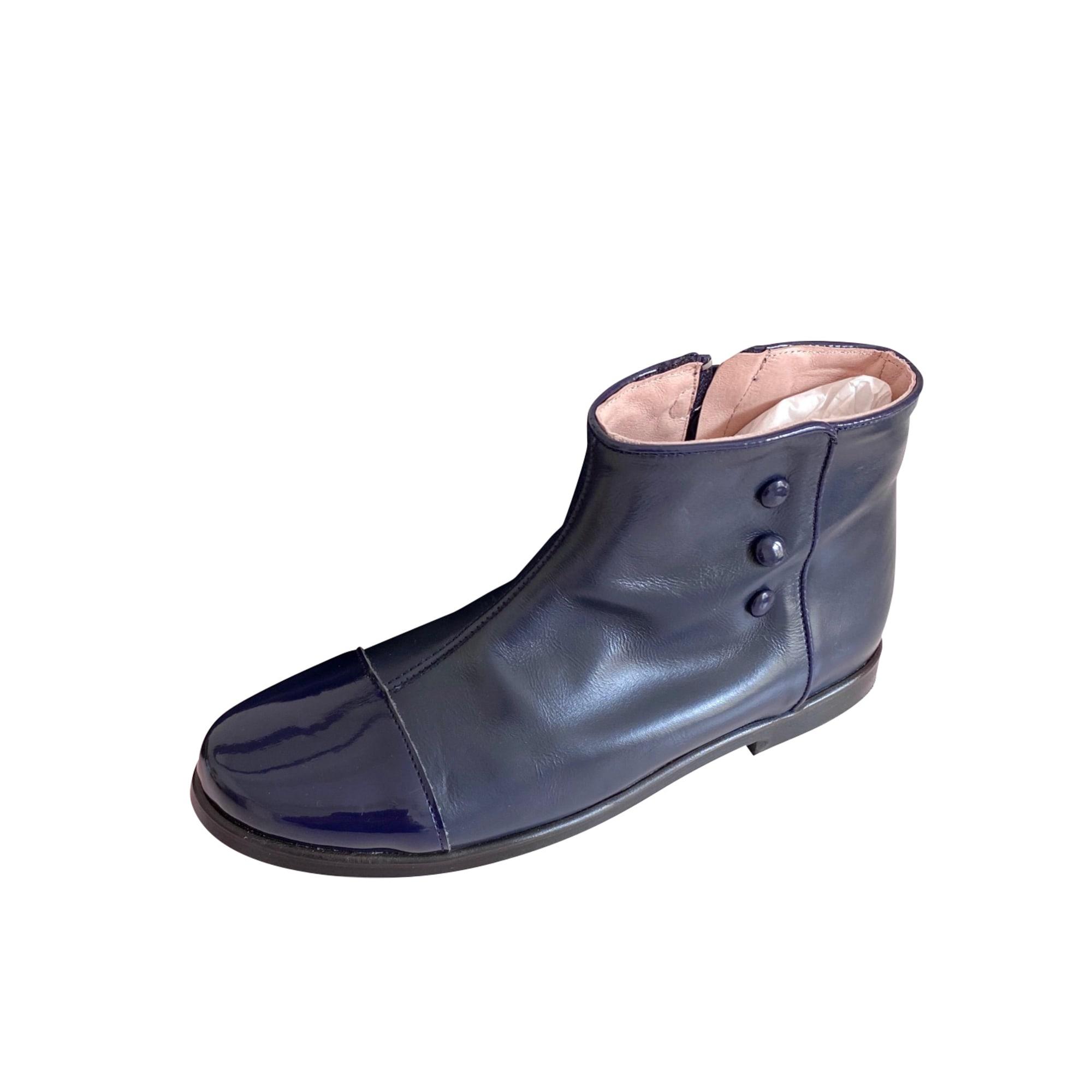 Bottines JACADI Bleu, bleu marine, bleu turquoise