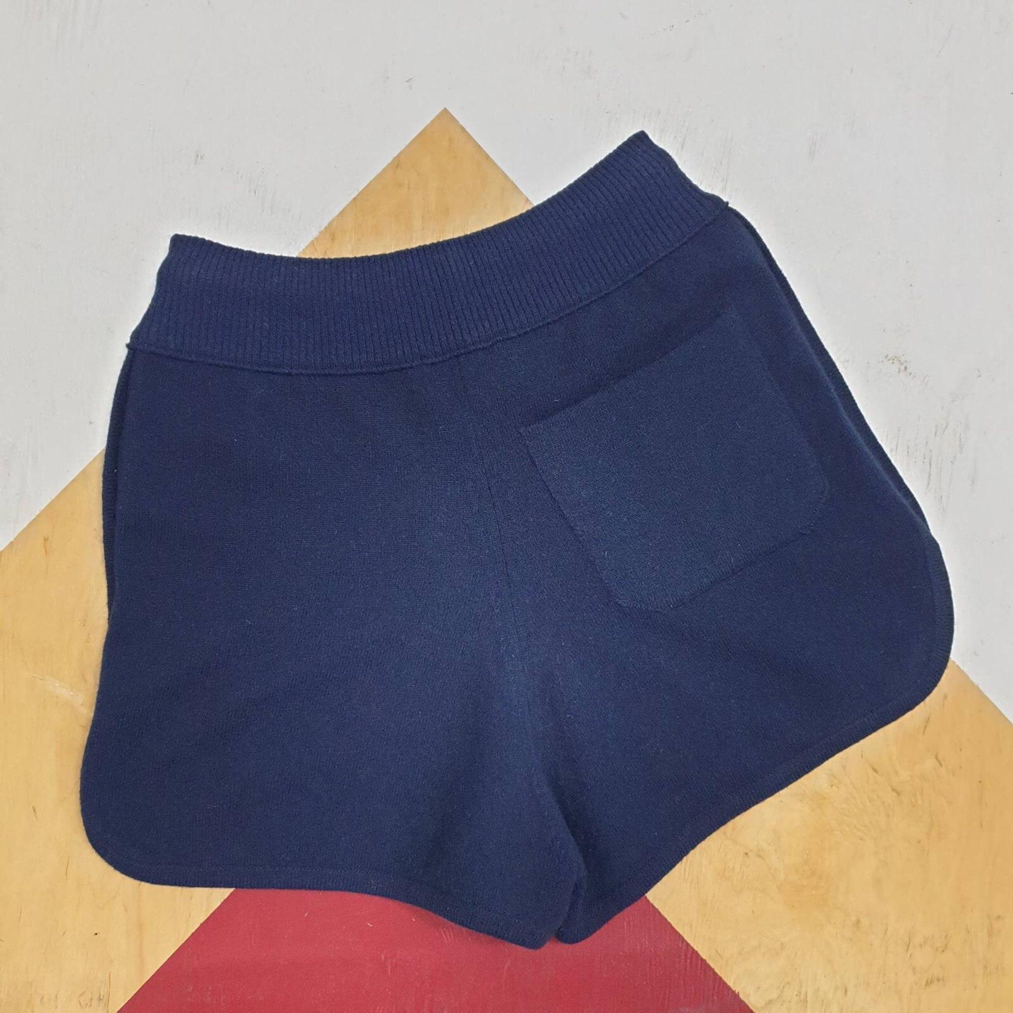 Short CHANEL Bleu, bleu marine, bleu turquoise