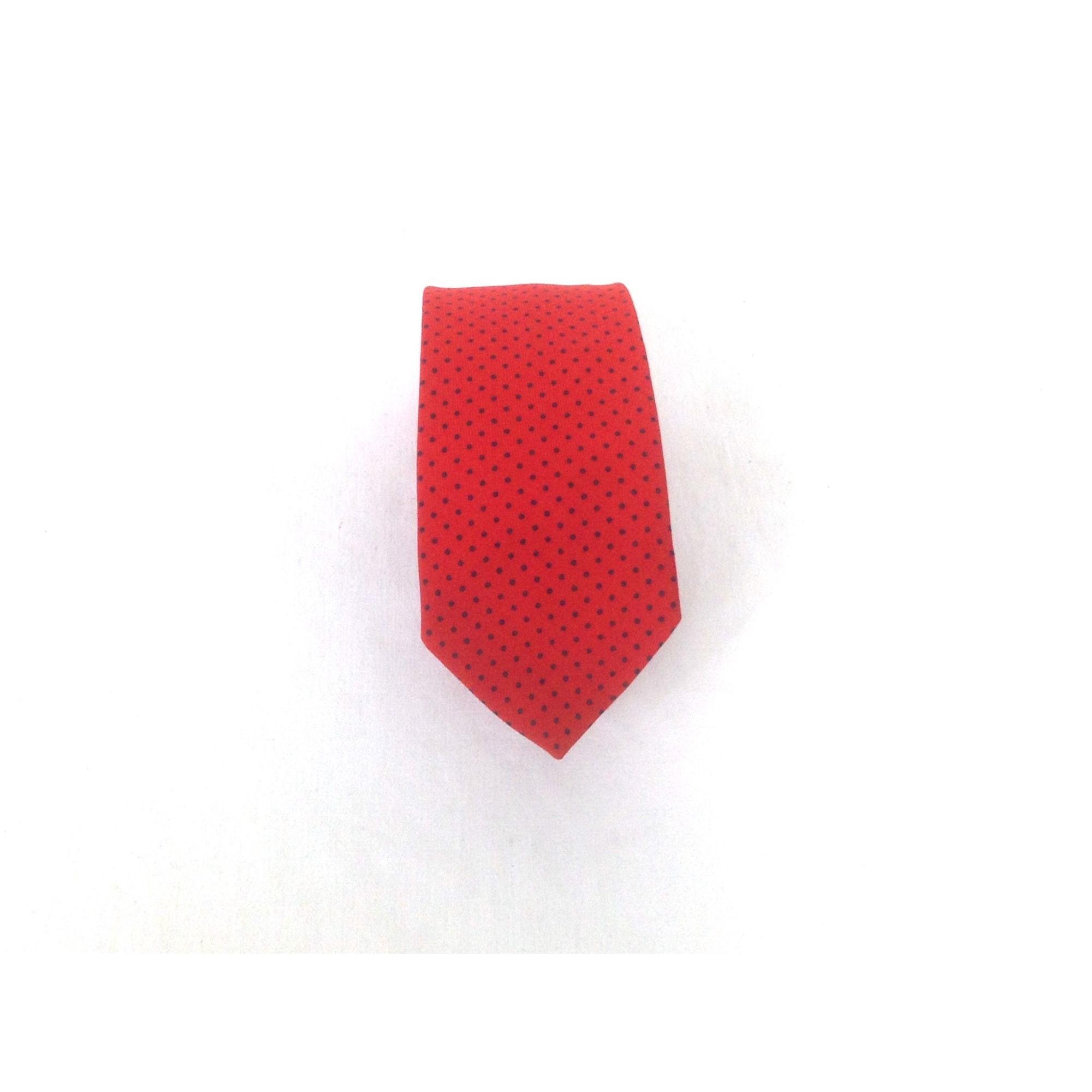 Cravate TIE RACK Rouge, bordeaux
