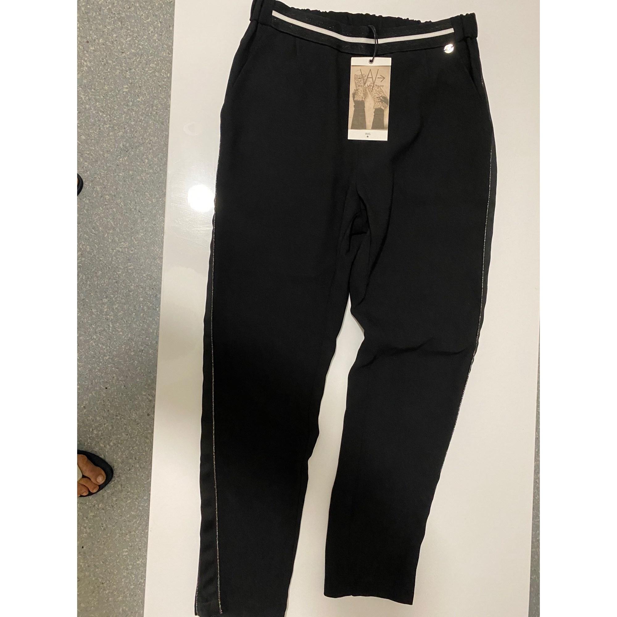 Pantalon carotte IKKS Noir
