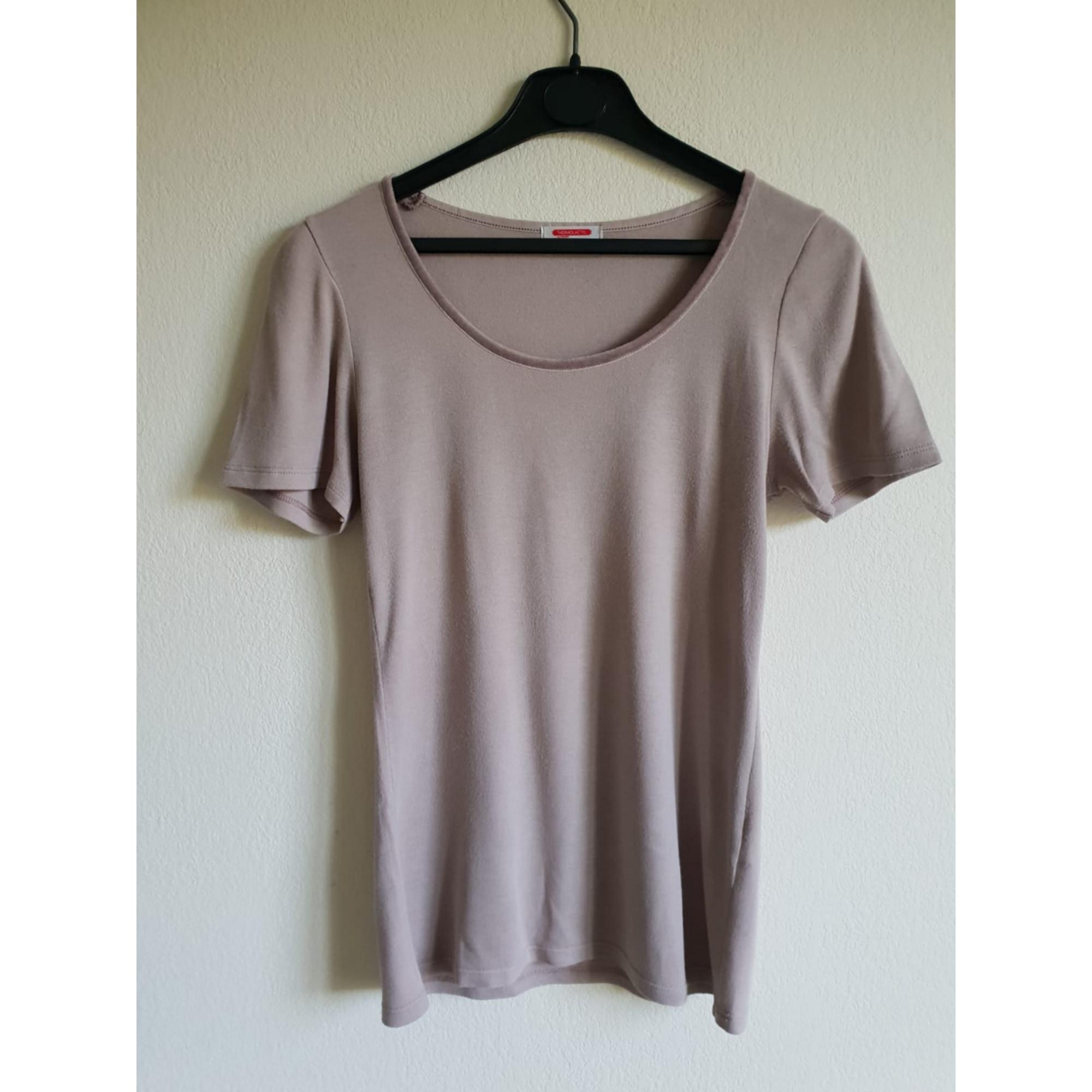 Top, tee-shirt DAMART Violet, mauve, lavande