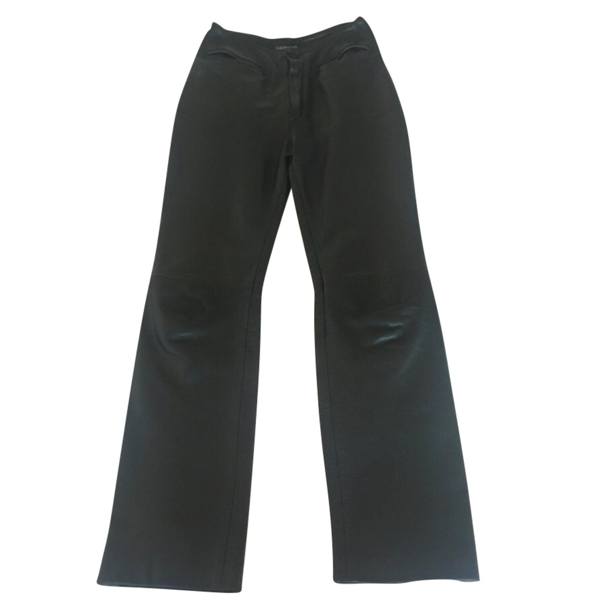 Pantalon droit GIORGIO Noir