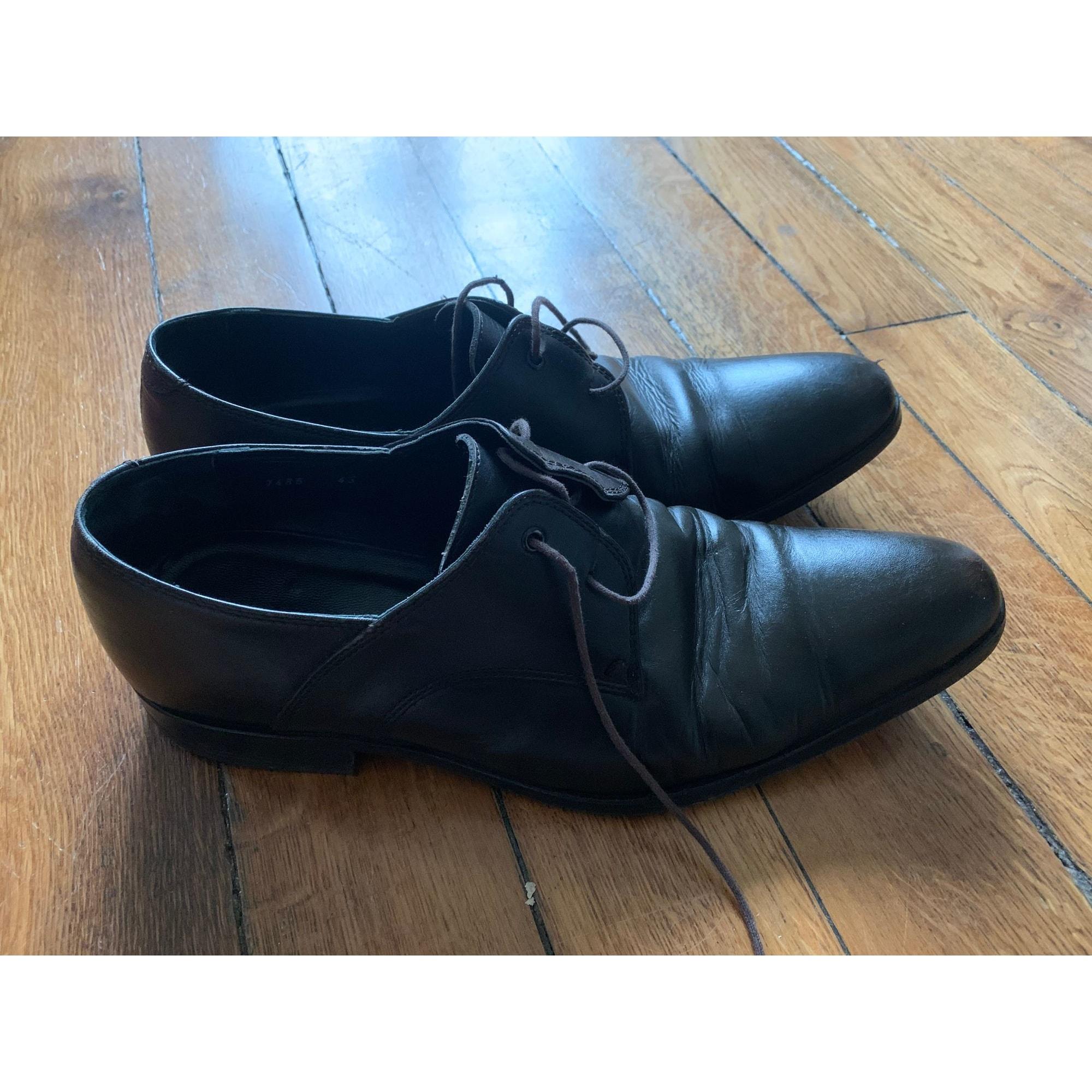 Chaussures à lacets ROCHAS Marron