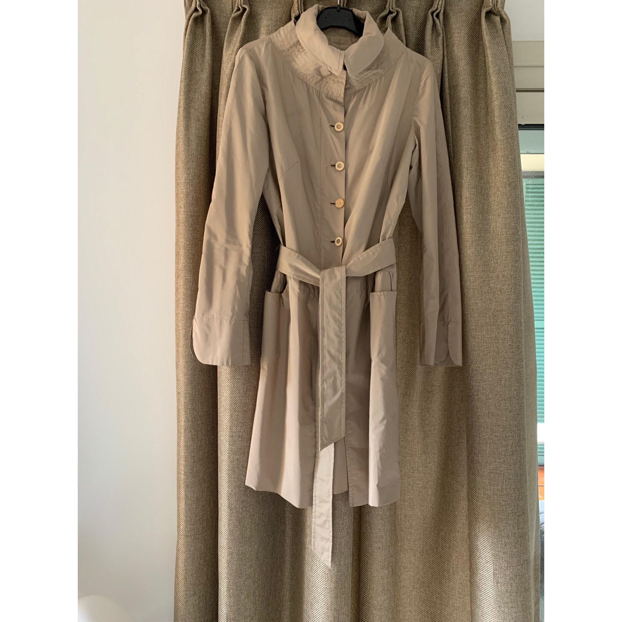 Imperméable, trench ERMANNO SCERVINO Beige, camel