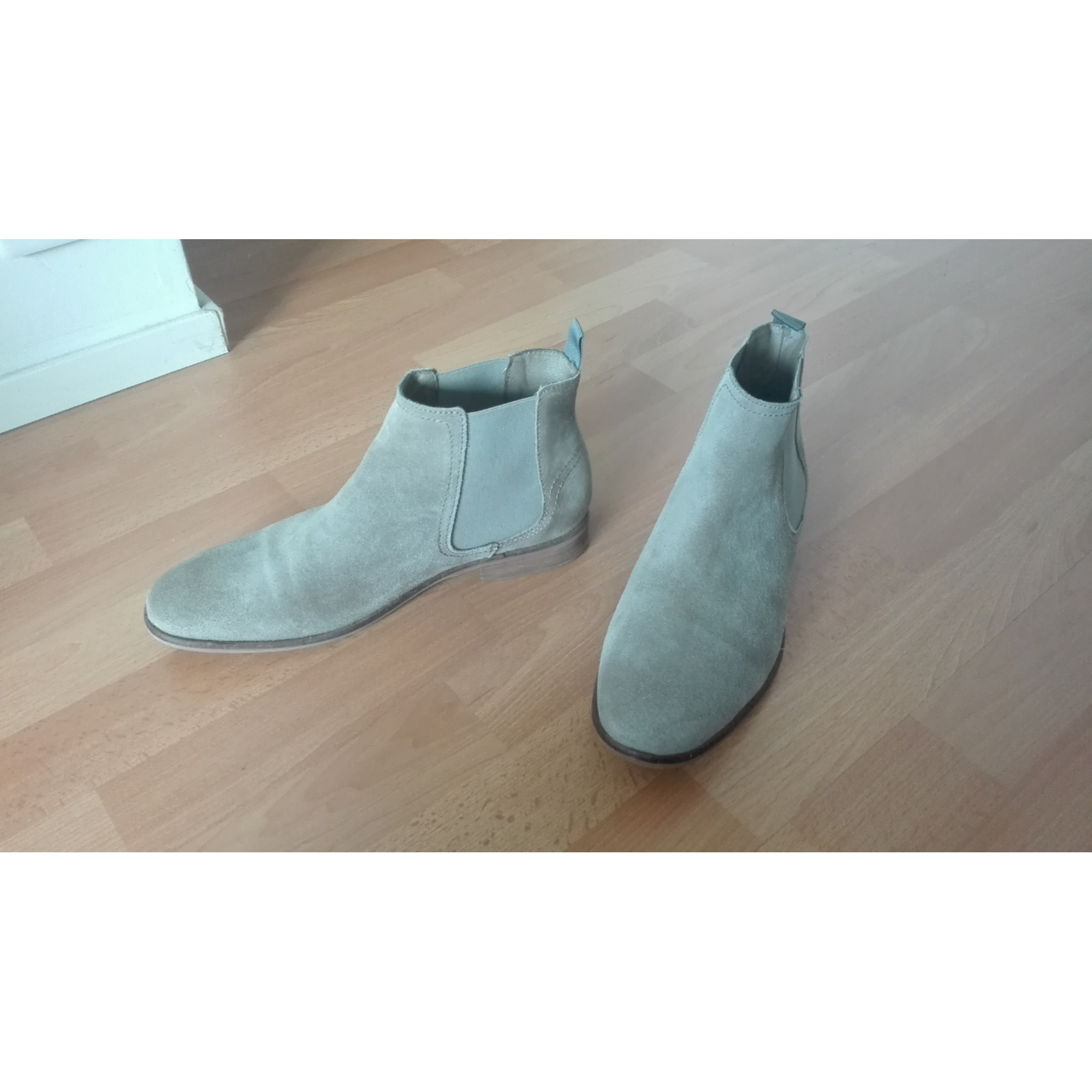 Bottines MINELLI Gris, anthracite