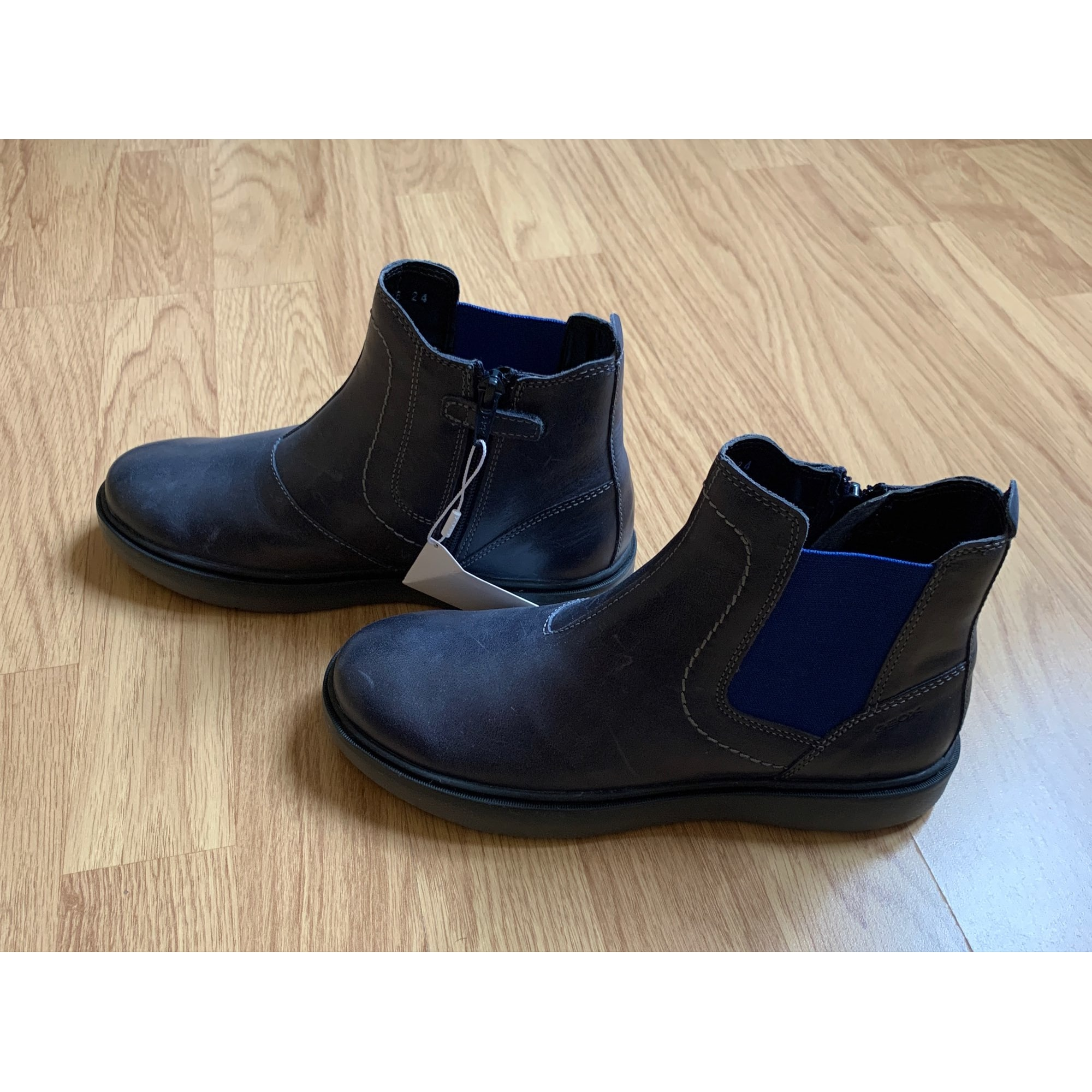 Ankle Boots GEOX Blue, navy, turquoise