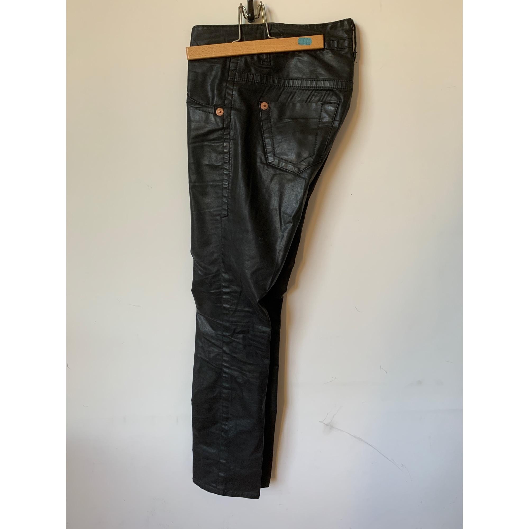 Pantalon droit BA&SH Marron