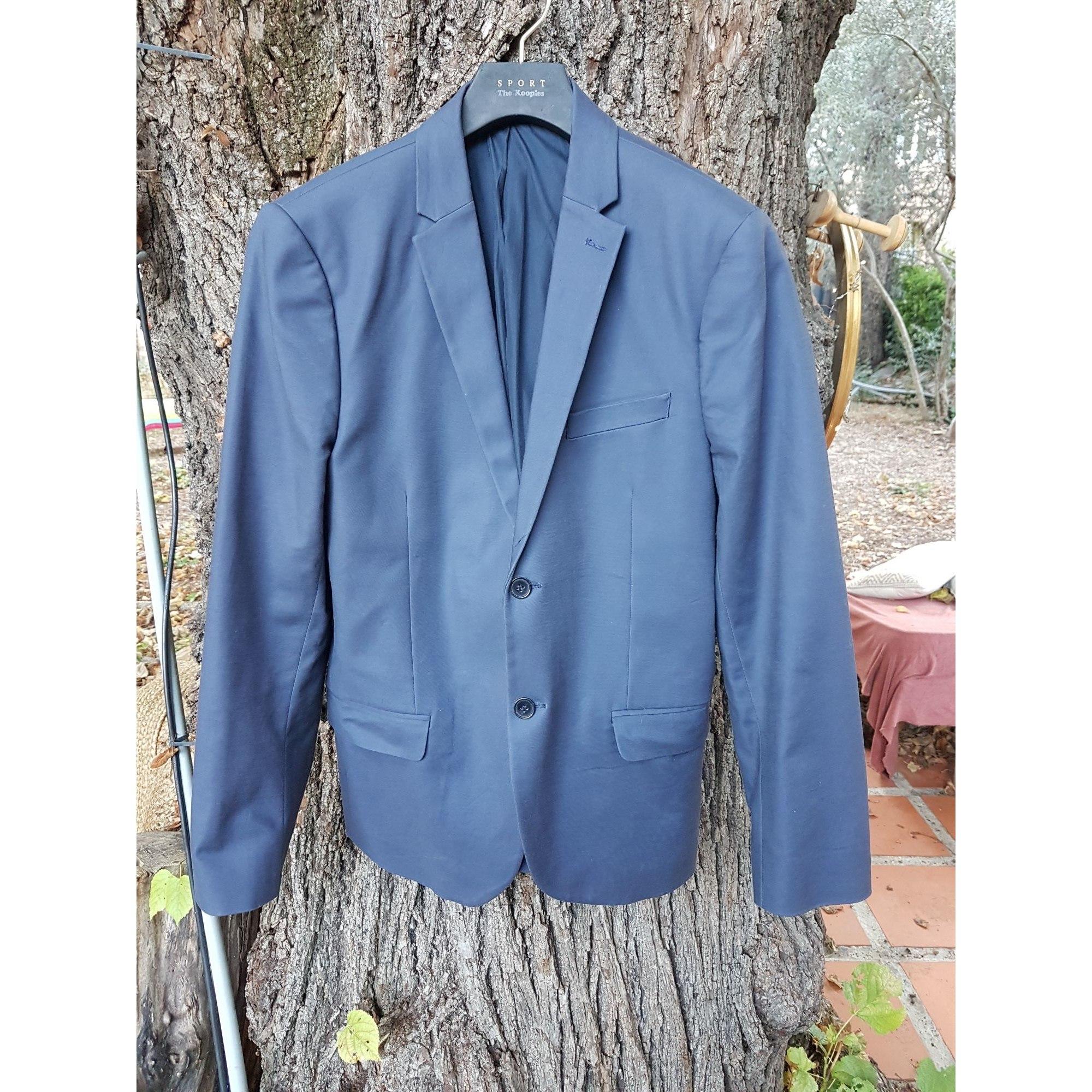 Veste de costume H&M Bleu, bleu marine, bleu turquoise