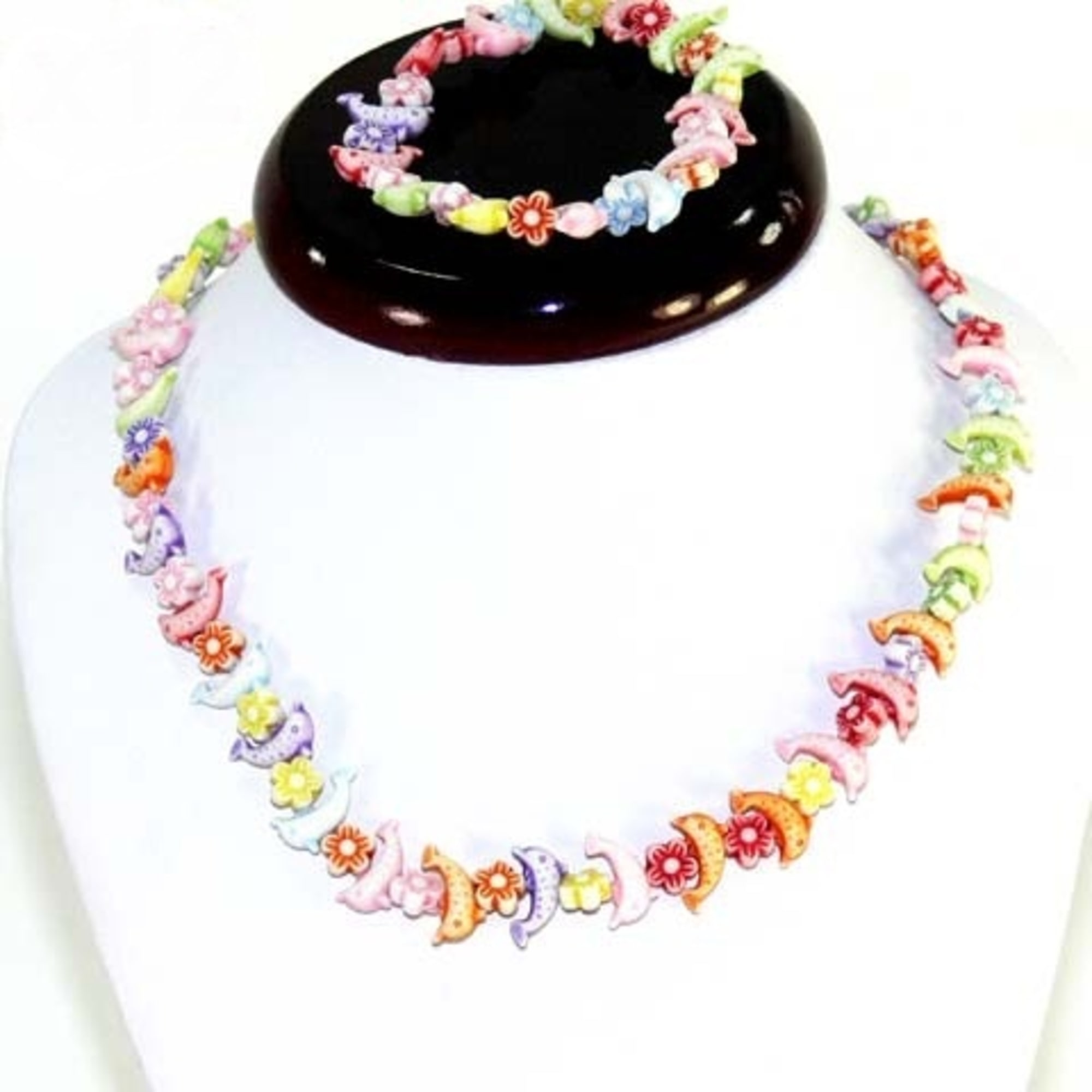Costume Jewelry Set MUSA CRÉATION Multicolor
