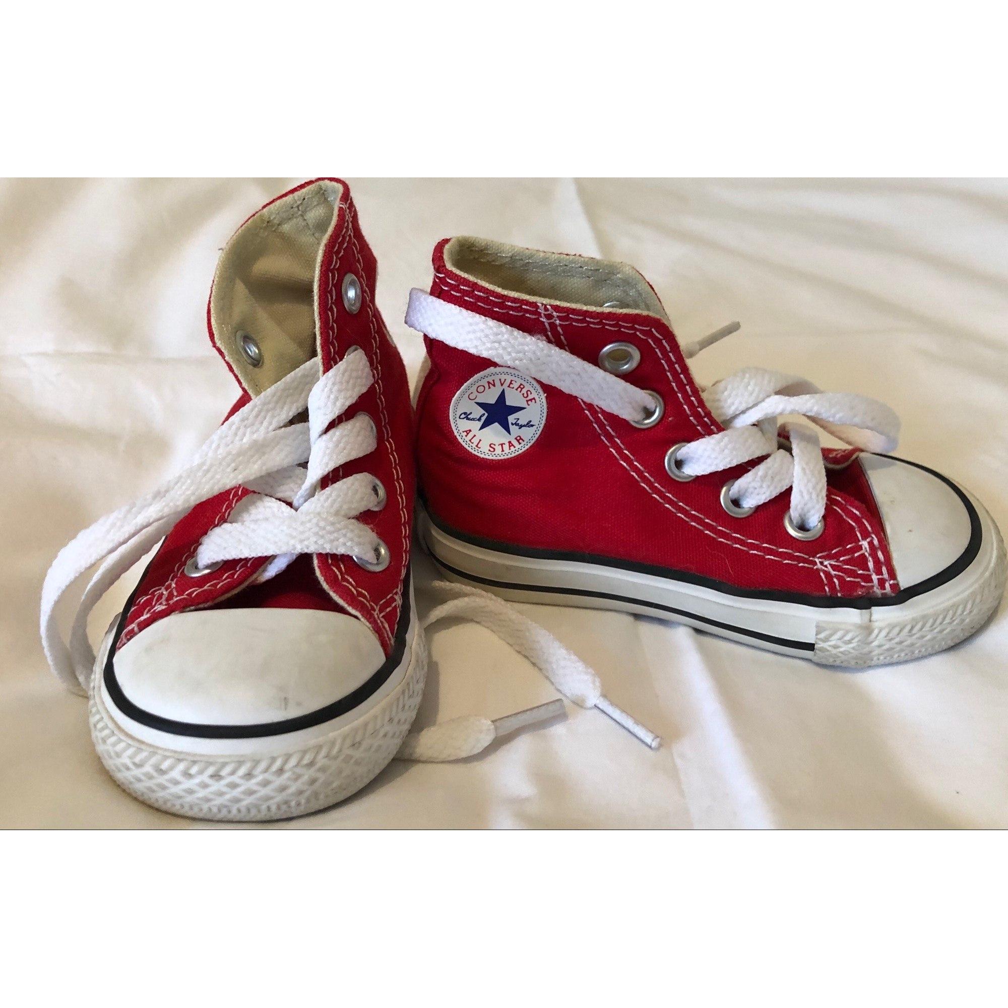 Sneakers CONVERSE Red, burgundy