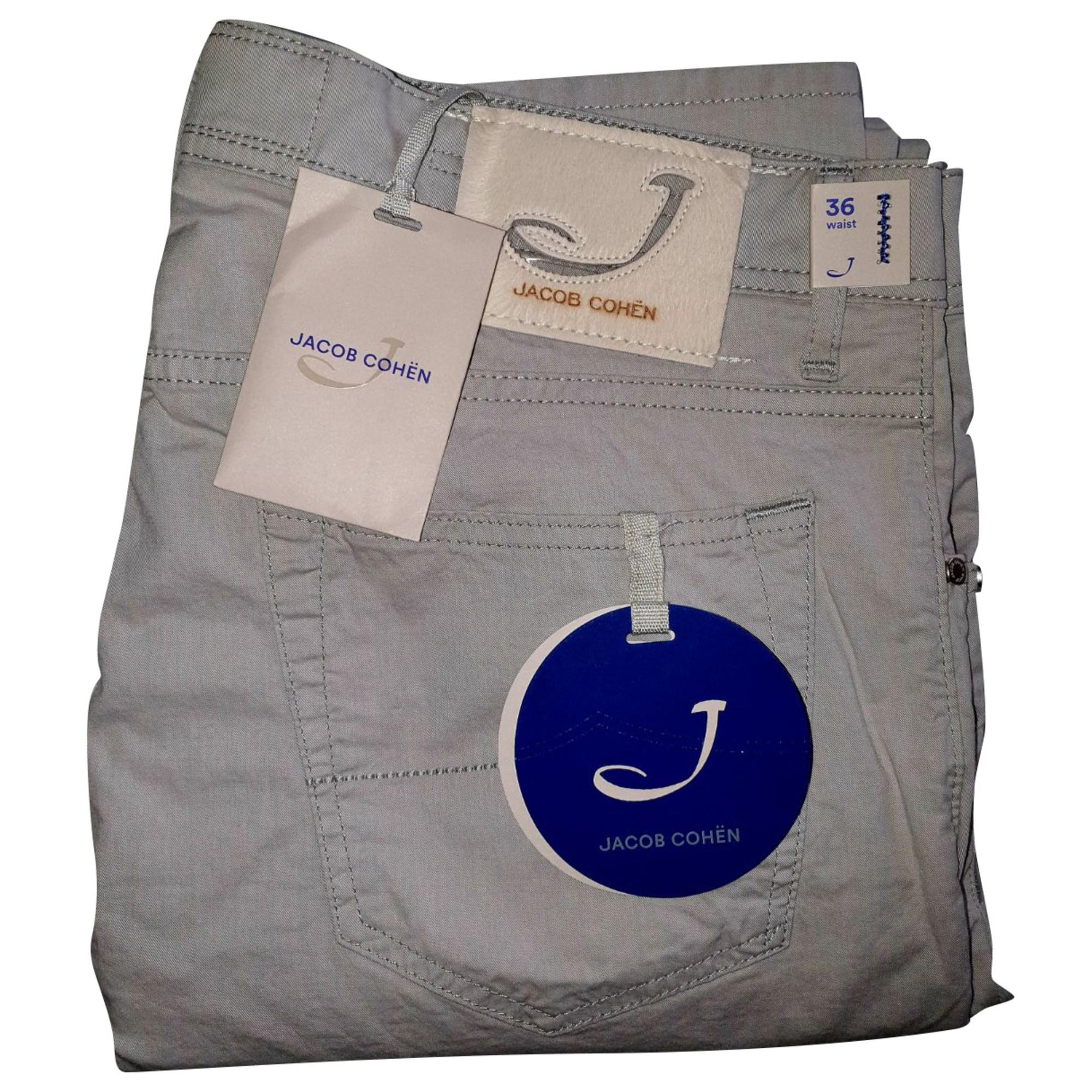 Pantalone slim JACOB COHEN Grigio, antracite