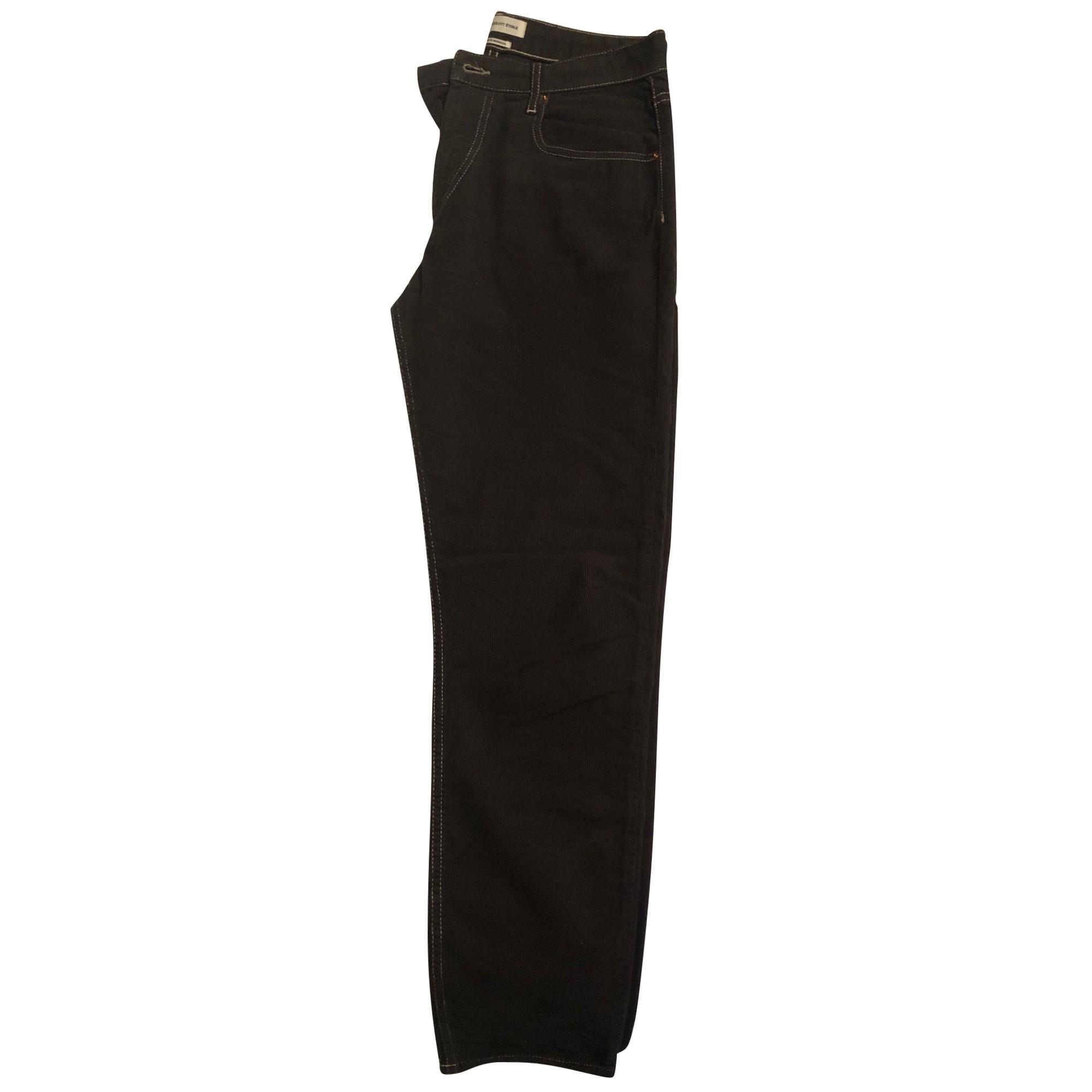 Pantalon large ISABEL MARANT Kaki