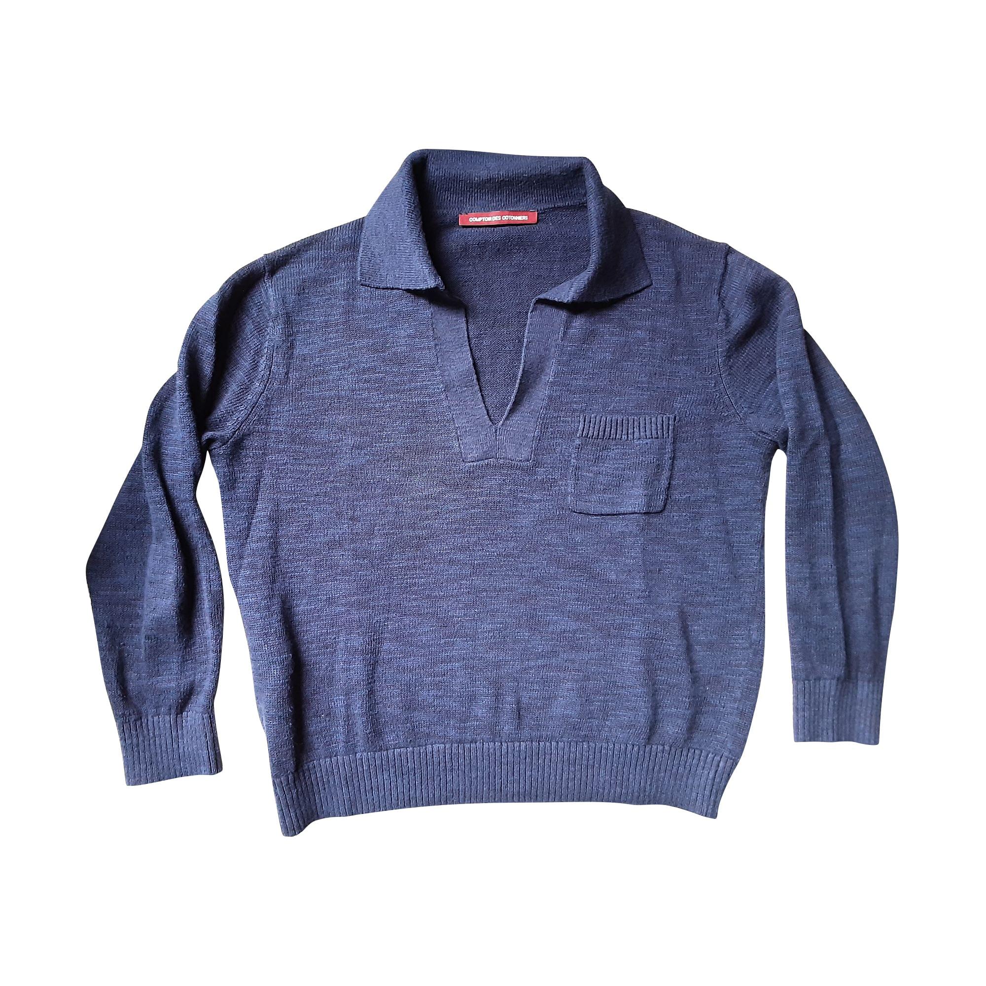 Pull COMPTOIR DES COTONNIERS Bleu, bleu marine, bleu turquoise