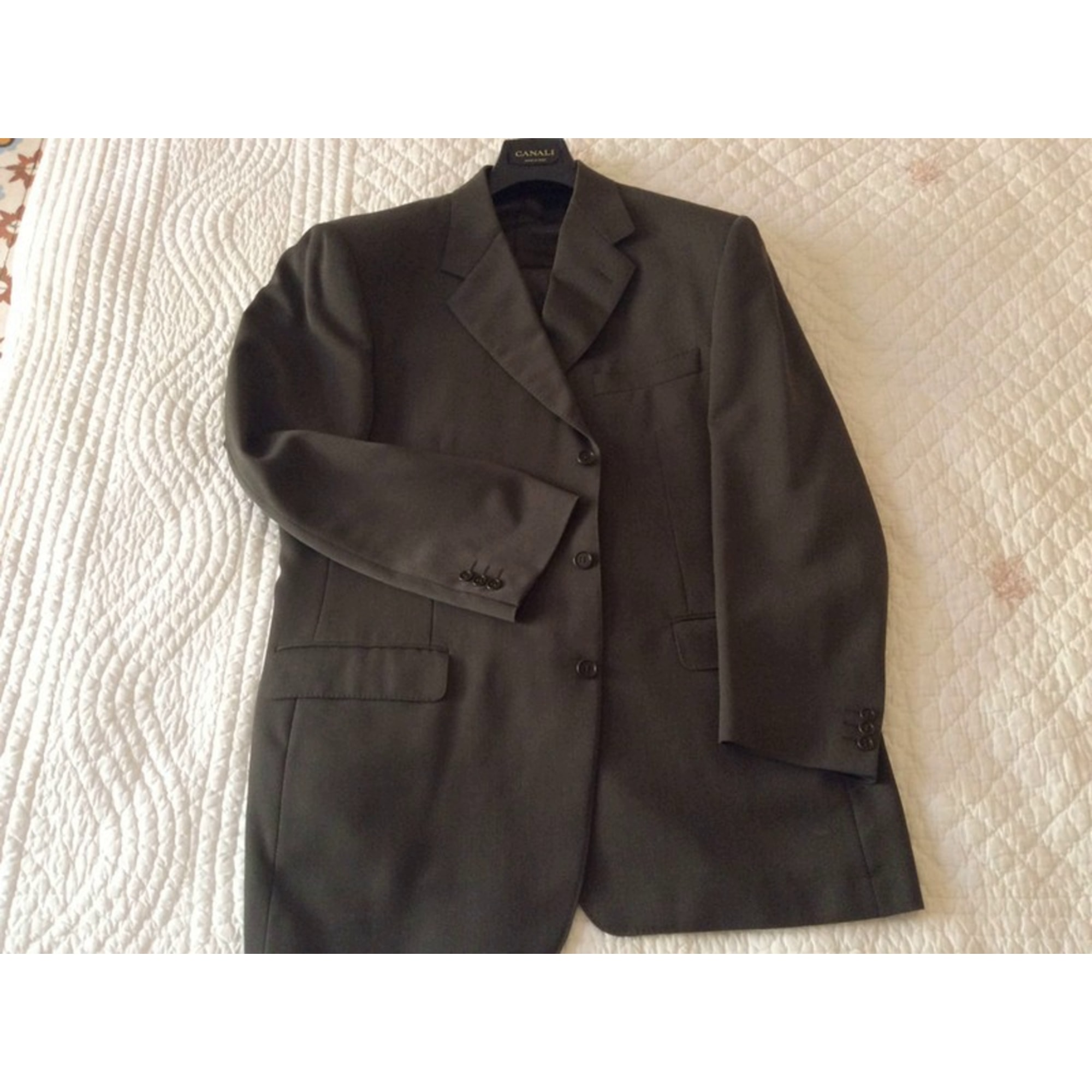 Costume complet CANALI Vert