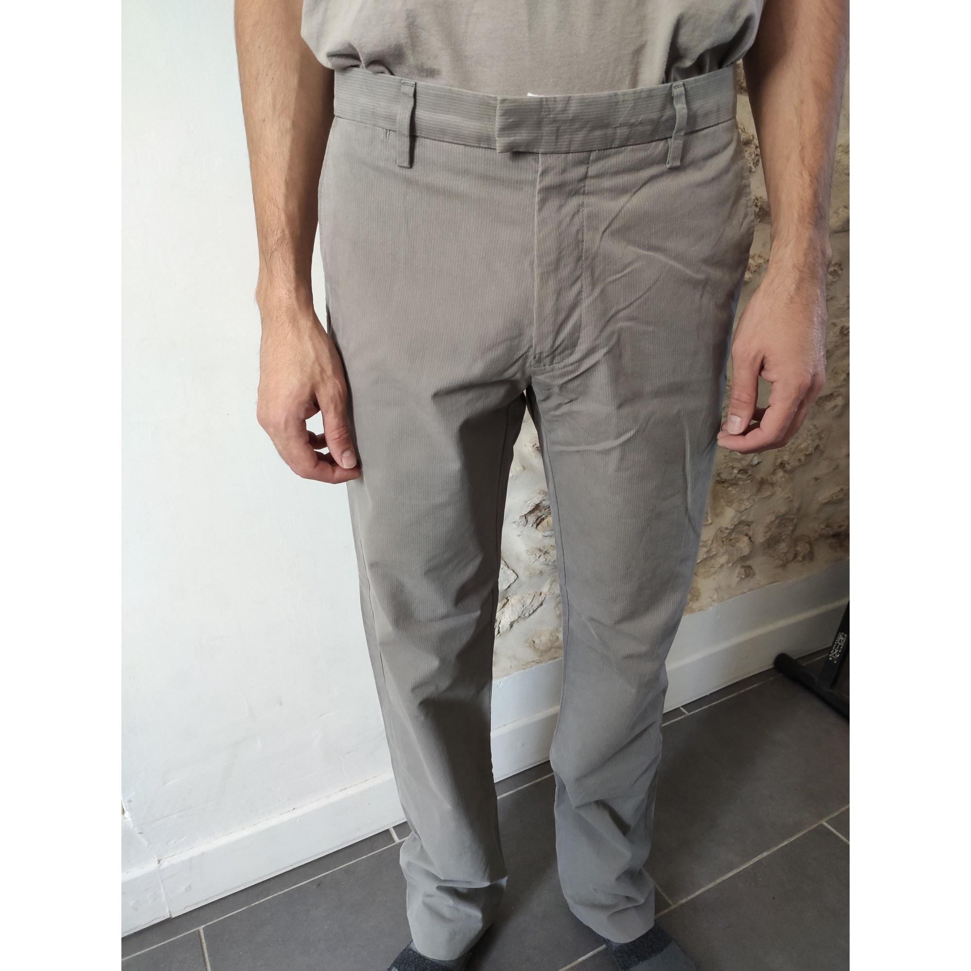 Pantalon droit DOCKERS Gris, anthracite