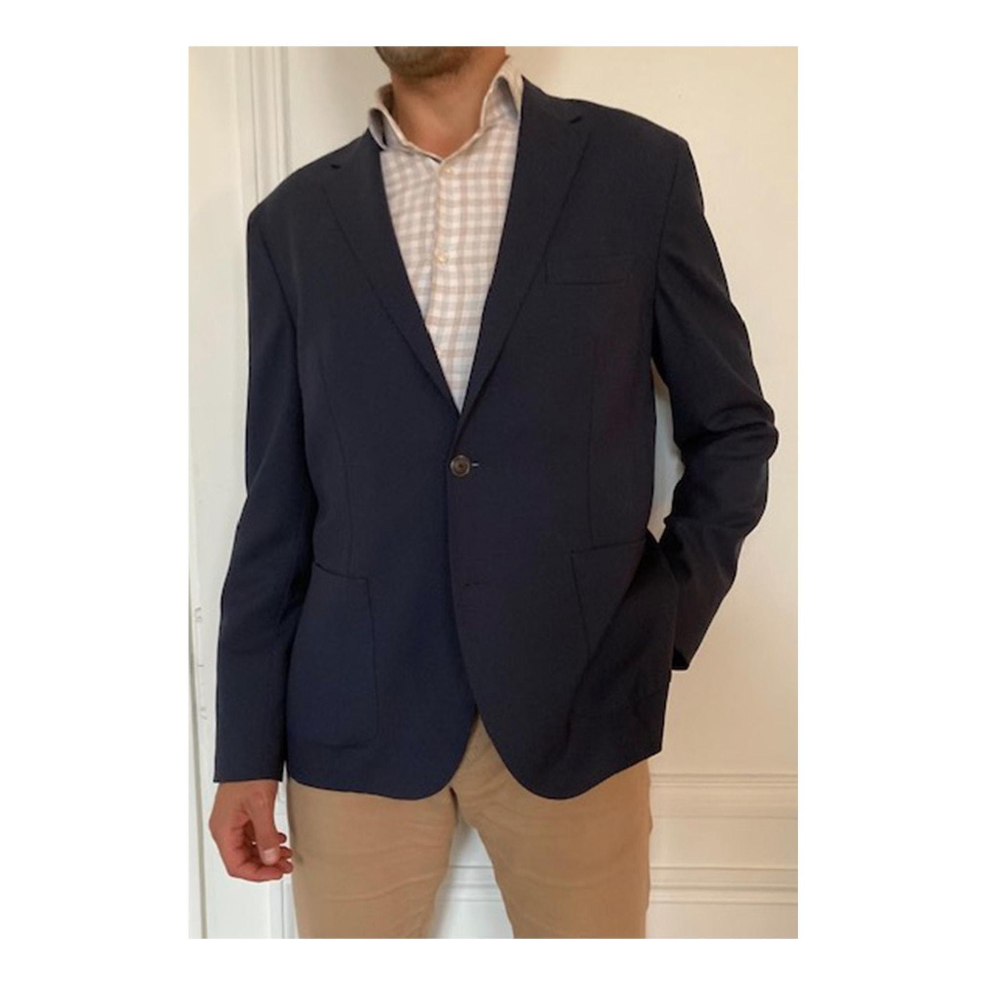 Veste de costume FAÇONNABLE Bleu, bleu marine, bleu turquoise