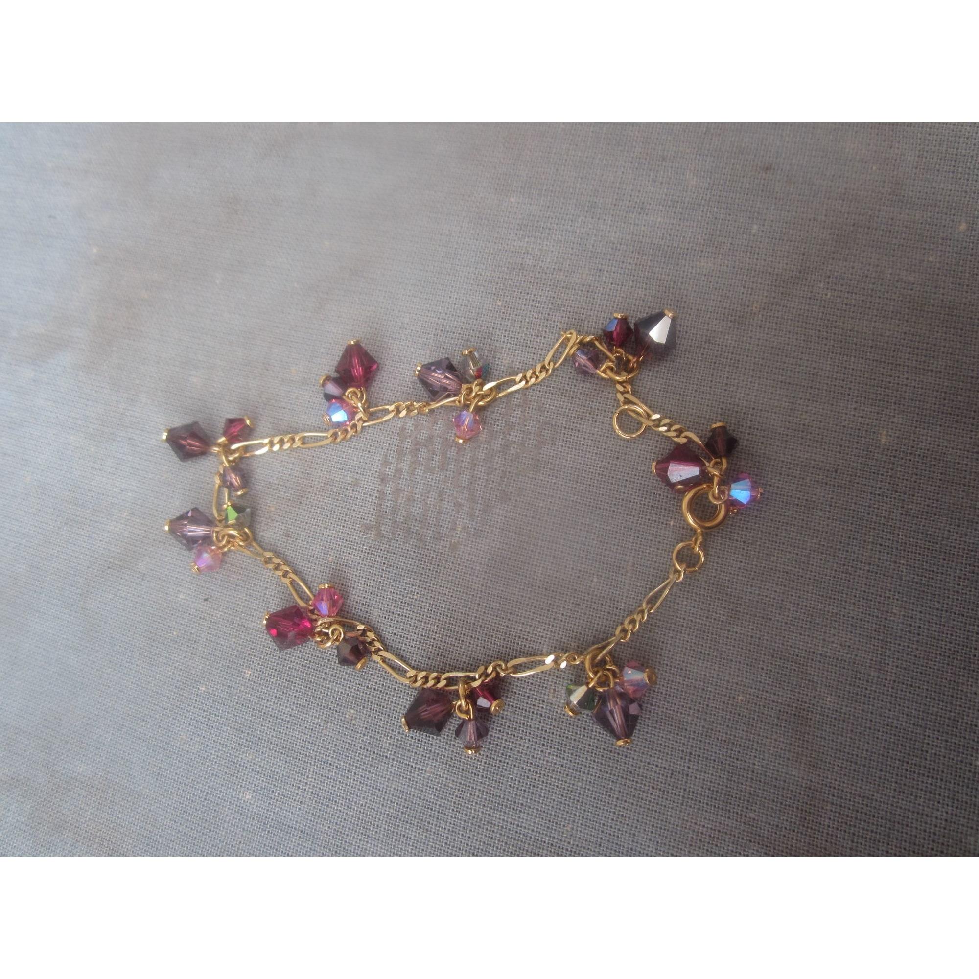 Bracelet MARQUE INCONNUE Rose, fuschia, vieux rose