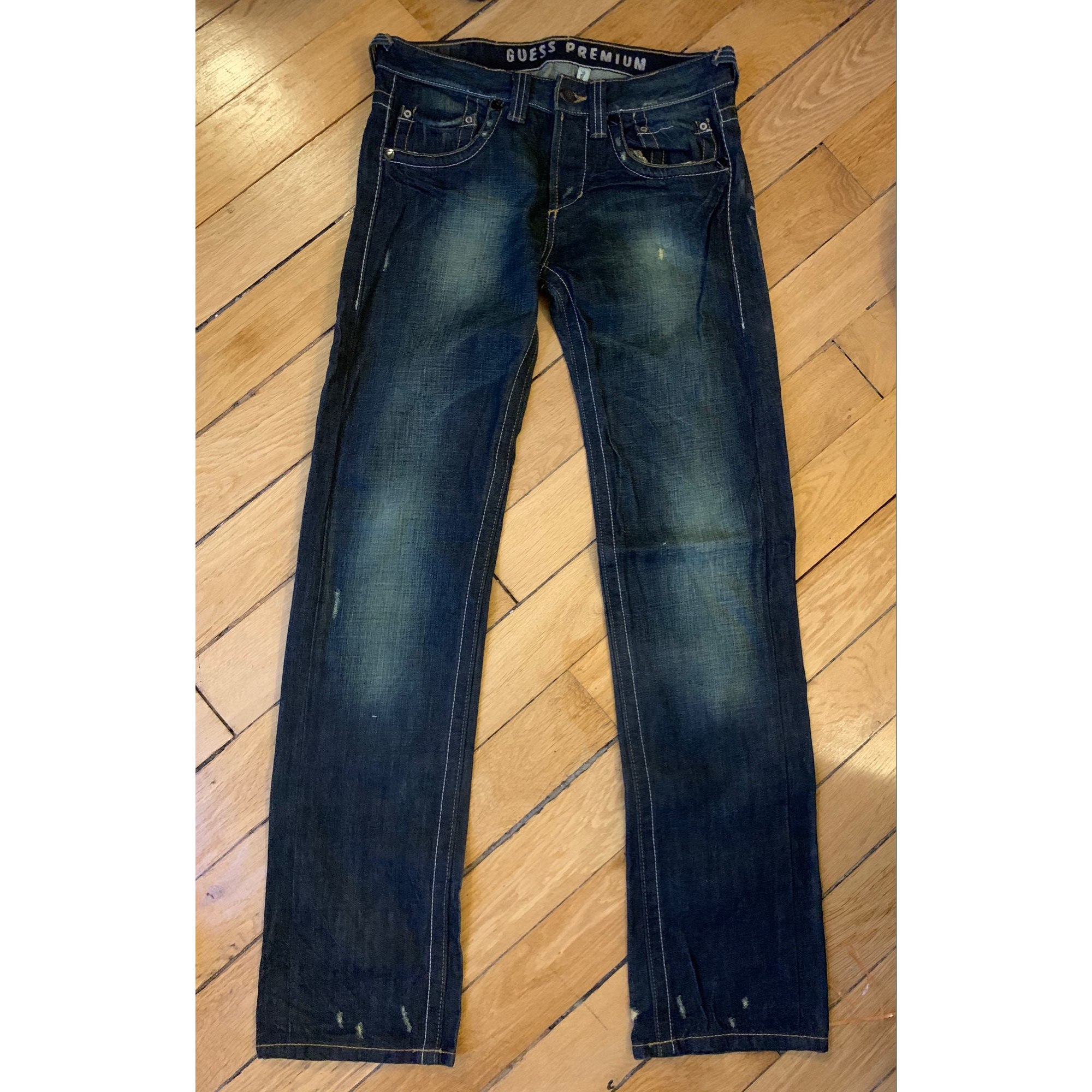 Straight Leg Jeans GUESS Blue, navy, turquoise