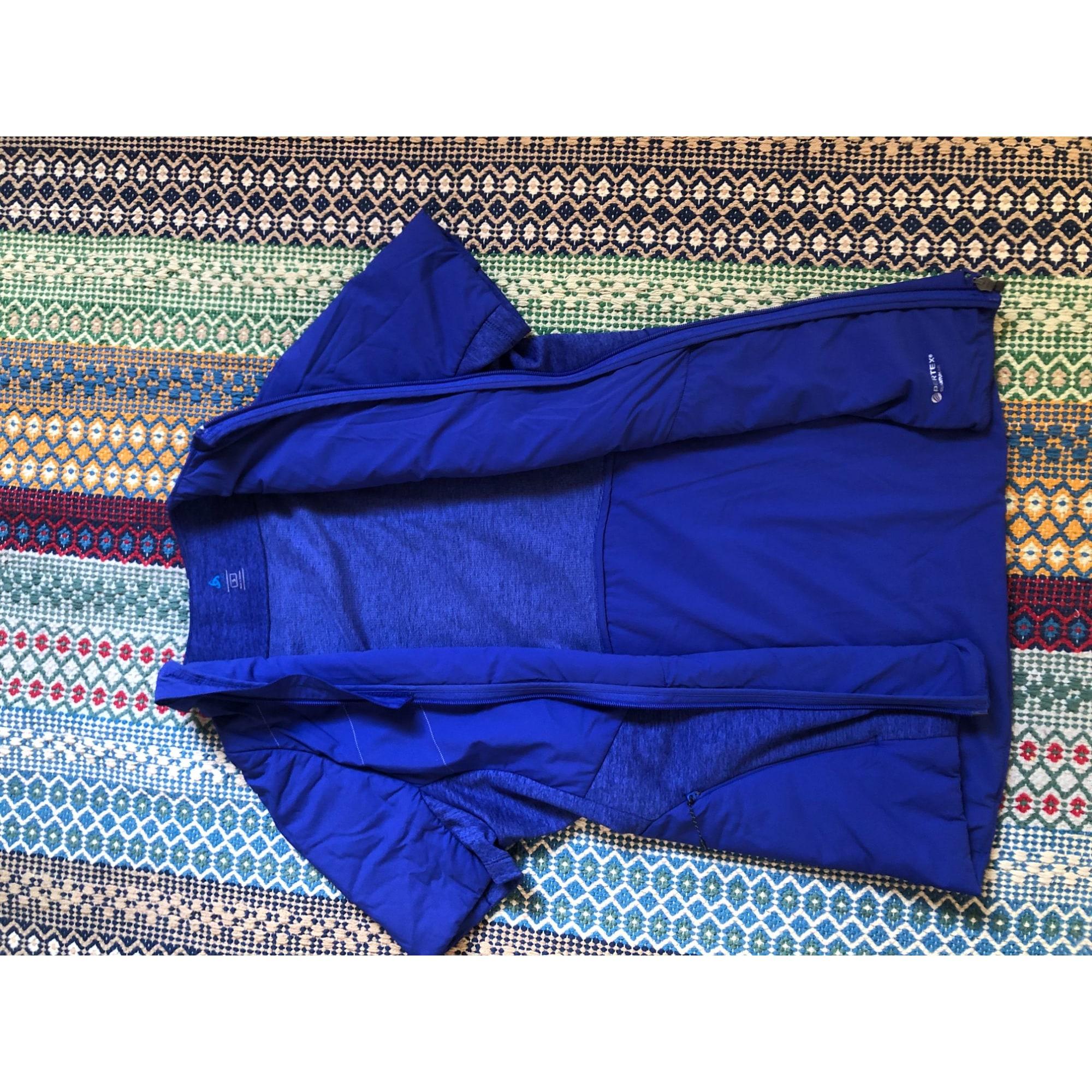 Top, tee-shirt ODLO Bleu, bleu marine, bleu turquoise