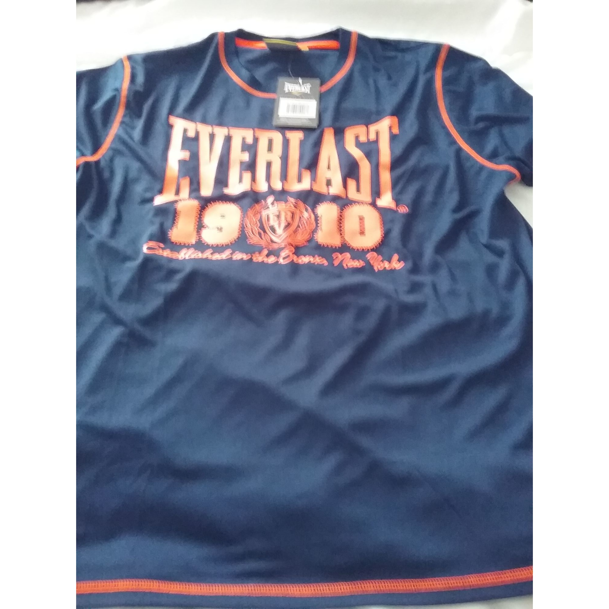 Tee-shirt EVERLAST Bleu orange