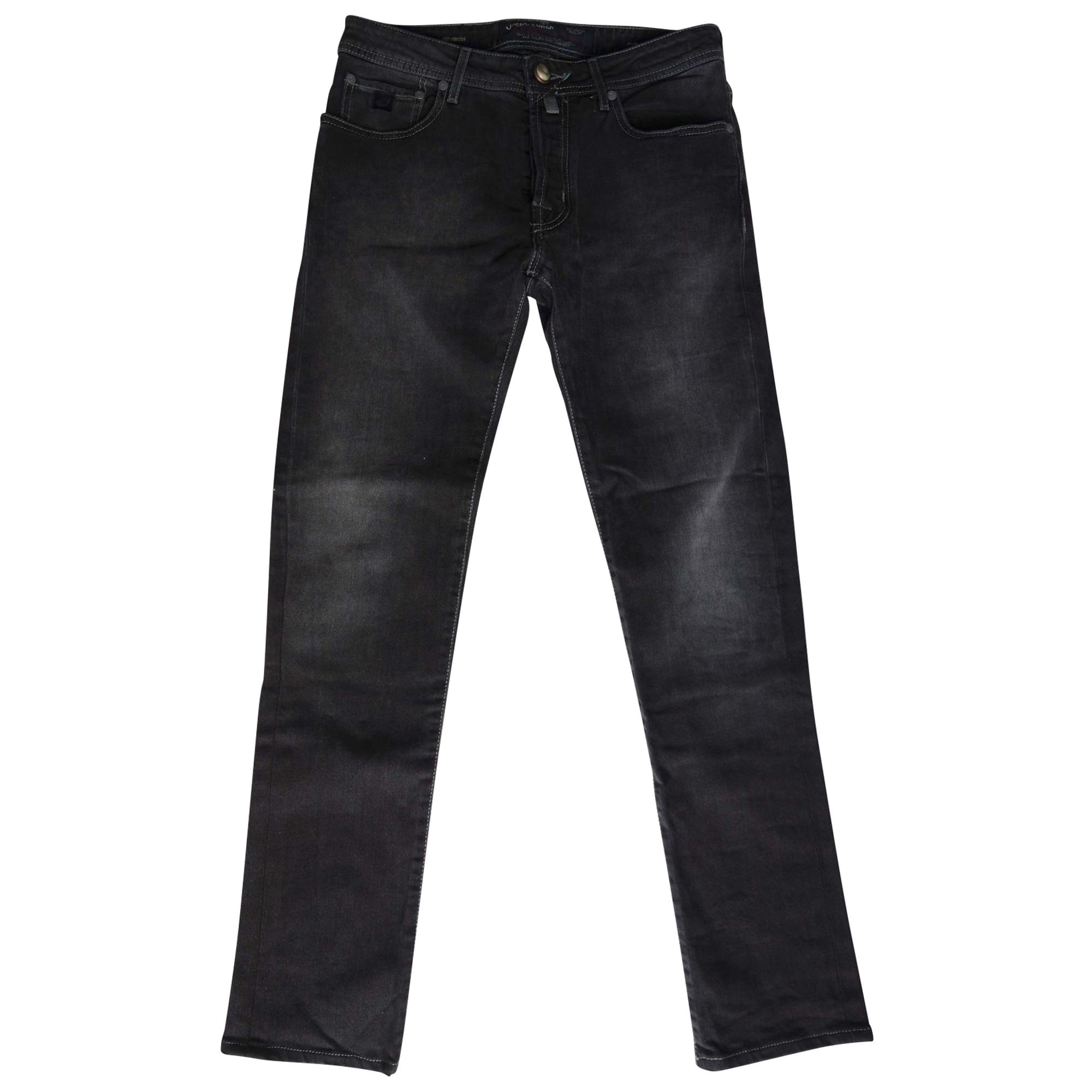 Jeans slim JACOB COHEN Noir