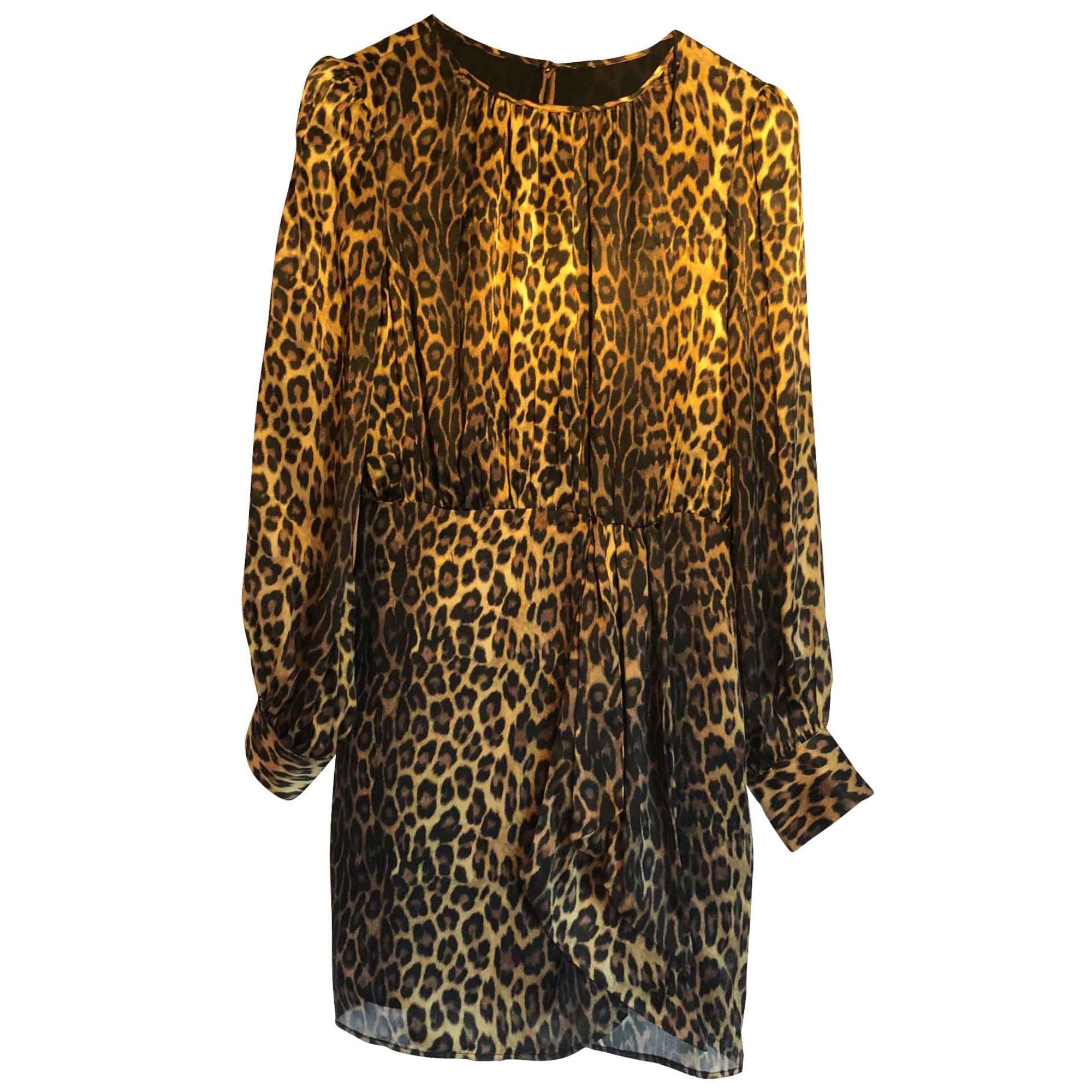 Robe courte THE KOOPLES Imprimés animaliers