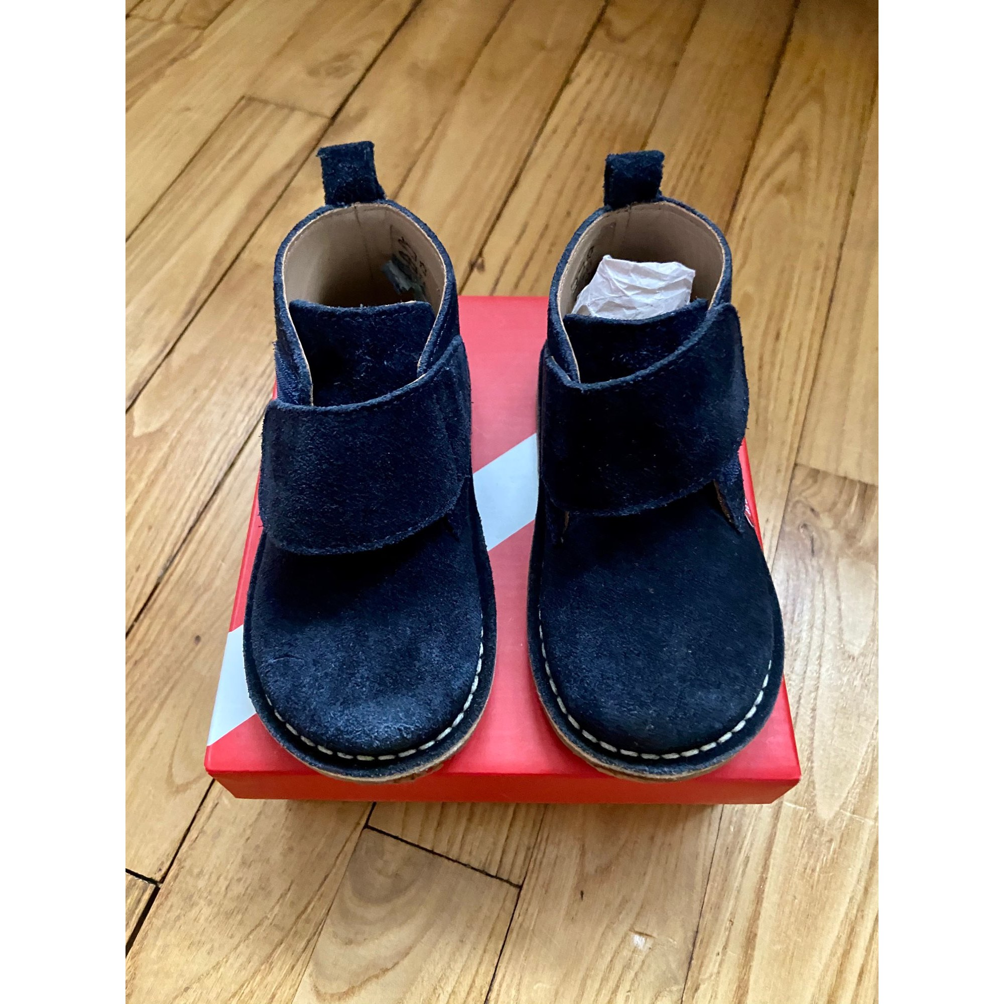 Ankle Boots KICKERS Blue, navy, turquoise