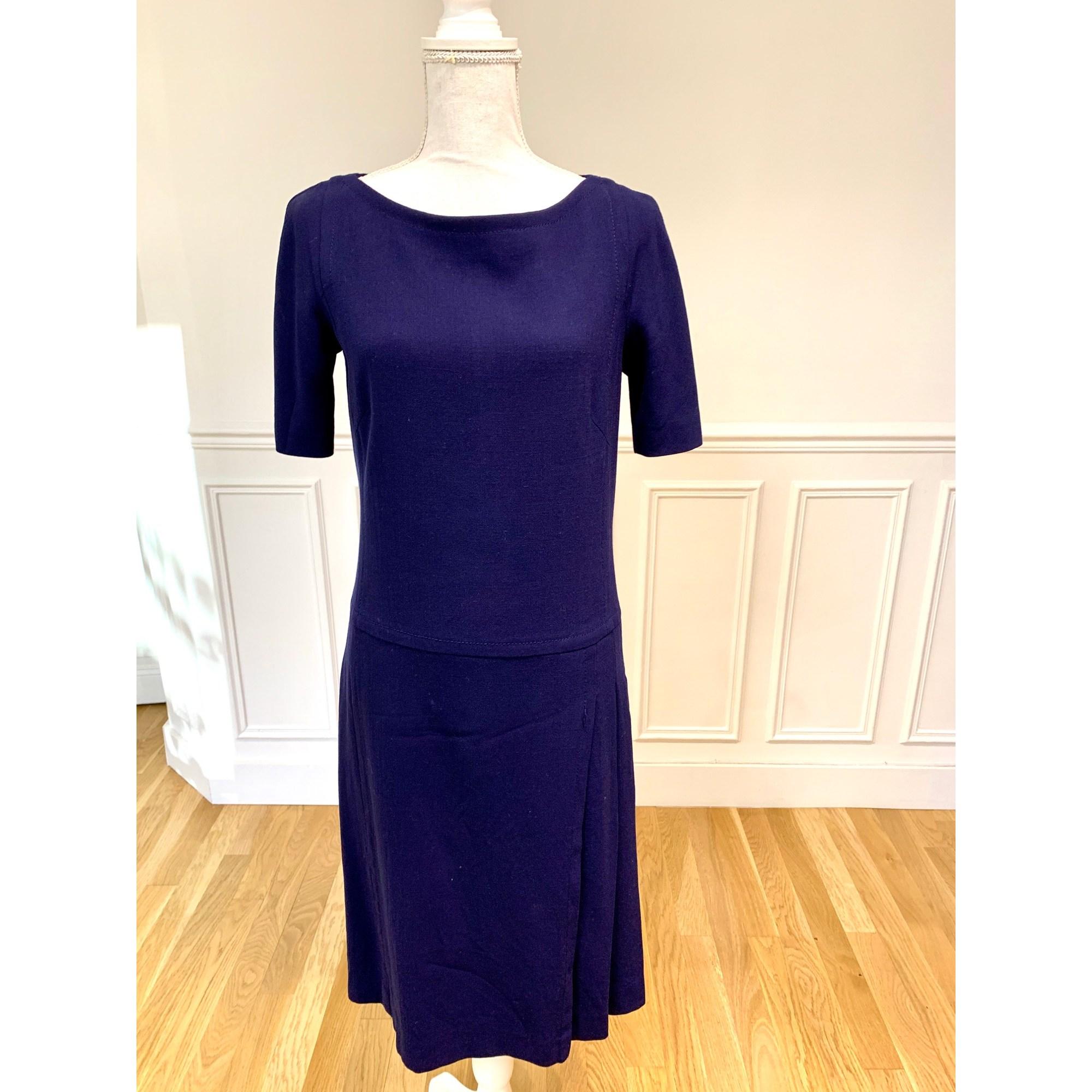 Robe mi-longue MARQUE INCONNUE Bleu, bleu marine, bleu turquoise