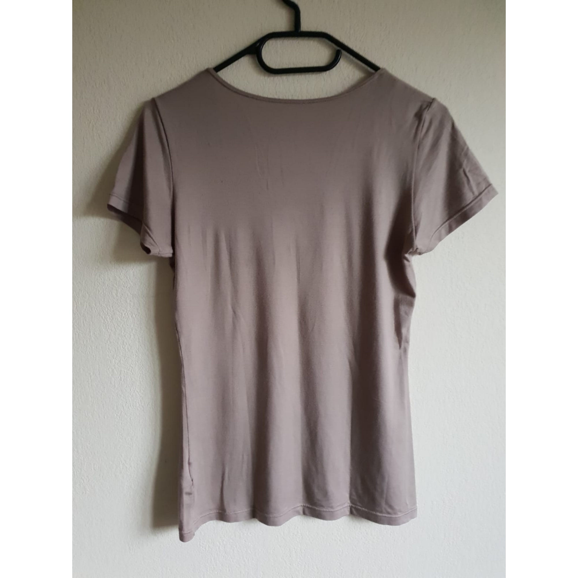 Top, tee-shirt UNIQLO Beige, camel