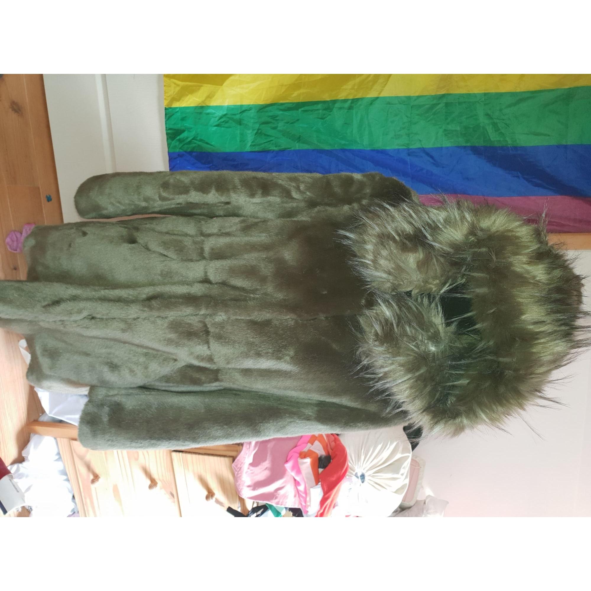 Manteau en fourrure LIU JO Vert