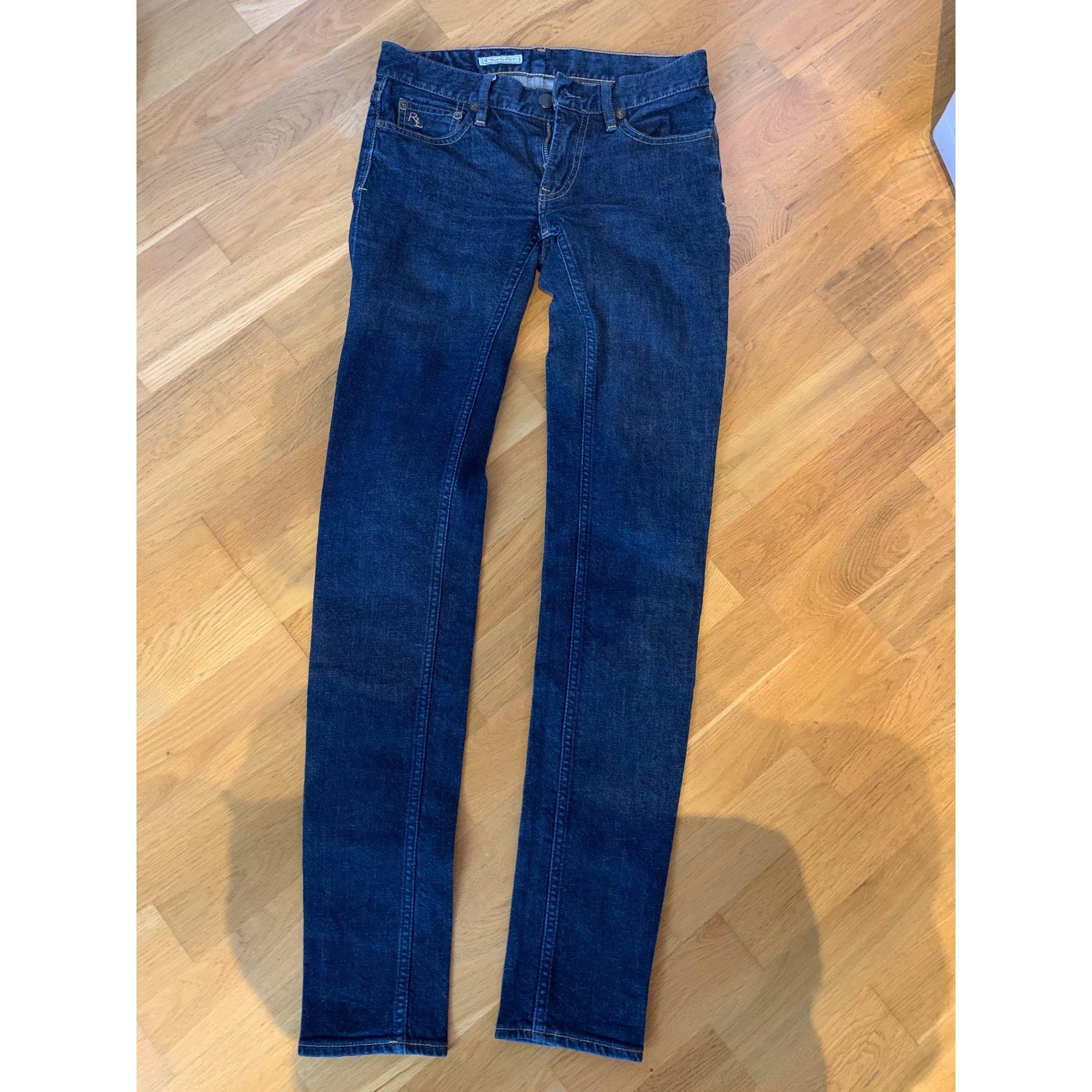 Jeans slim RALPH LAUREN Bleu, bleu marine, bleu turquoise