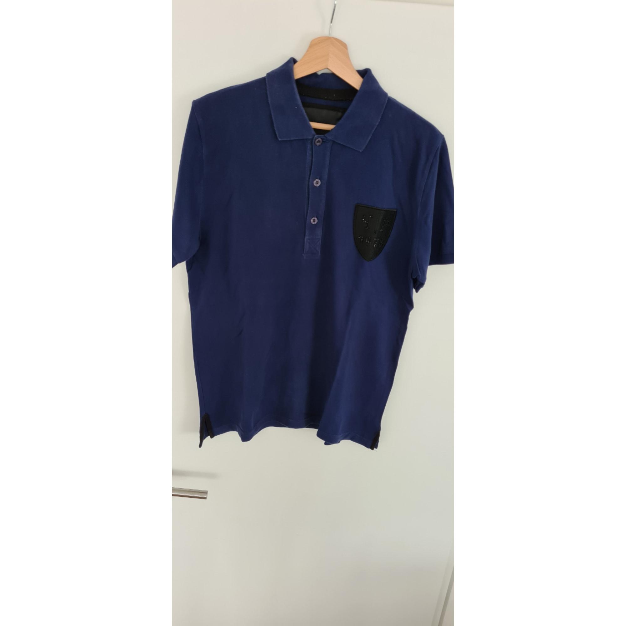 Polo PHILIPP PLEIN Bleu, bleu marine, bleu turquoise