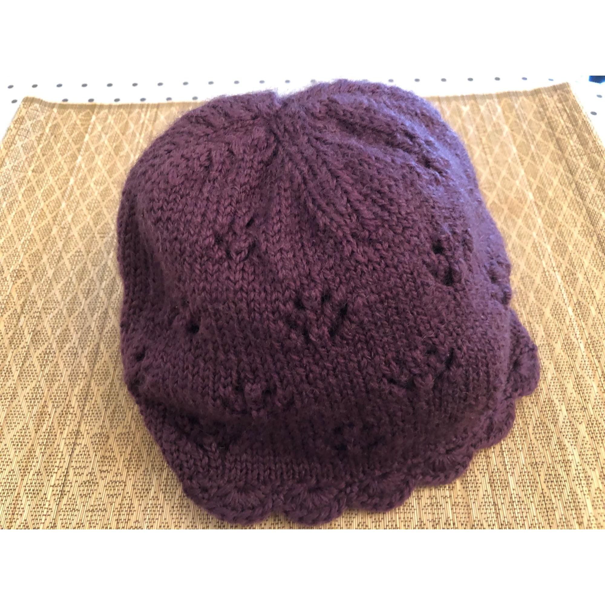 Beanie PETIT BATEAU Purple, mauve, lavender