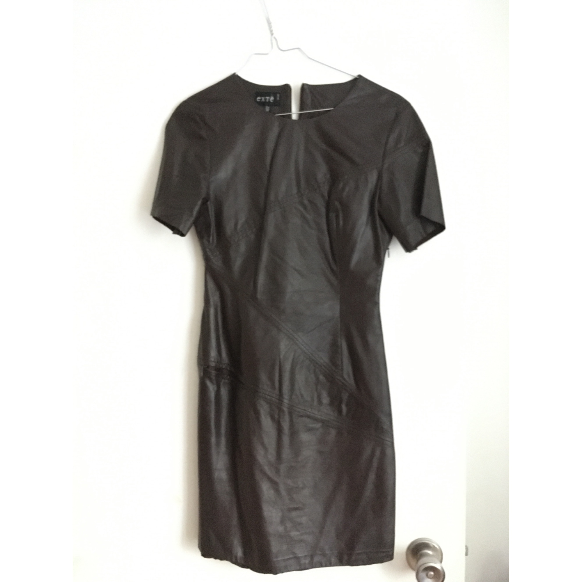 Robe courte EXTE Marron