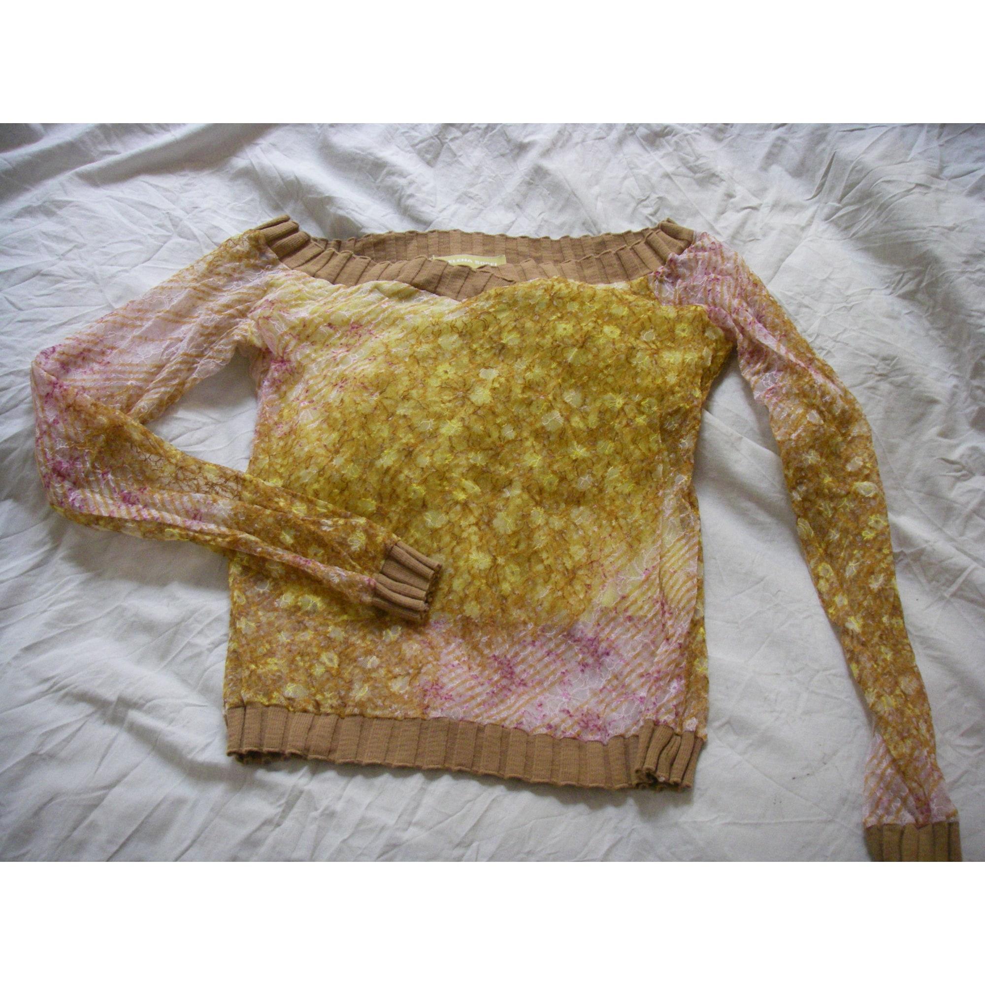 Top, tee-shirt HELENA SOREL Jaune