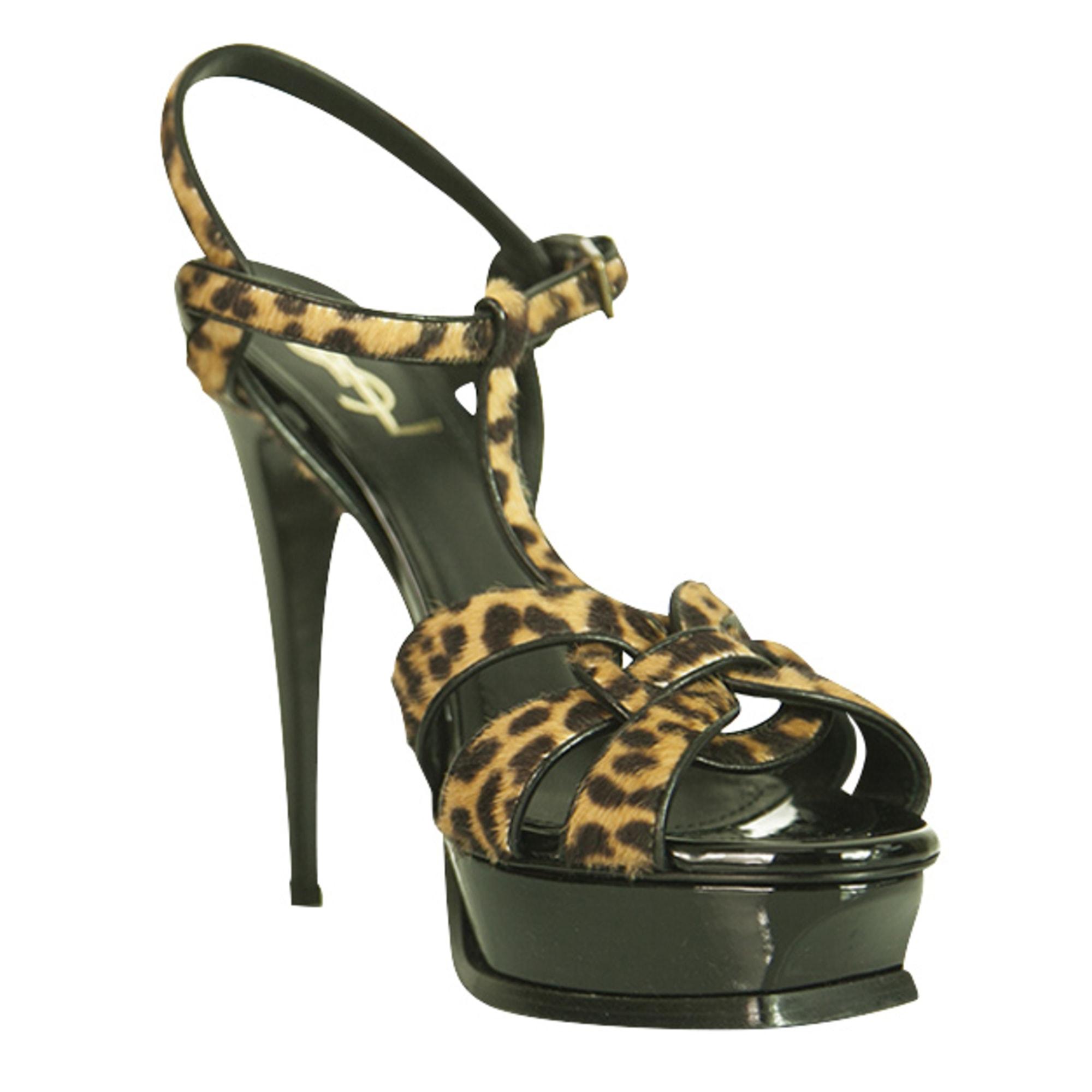 Heeled Sandals YVES SAINT LAURENT Multicolor